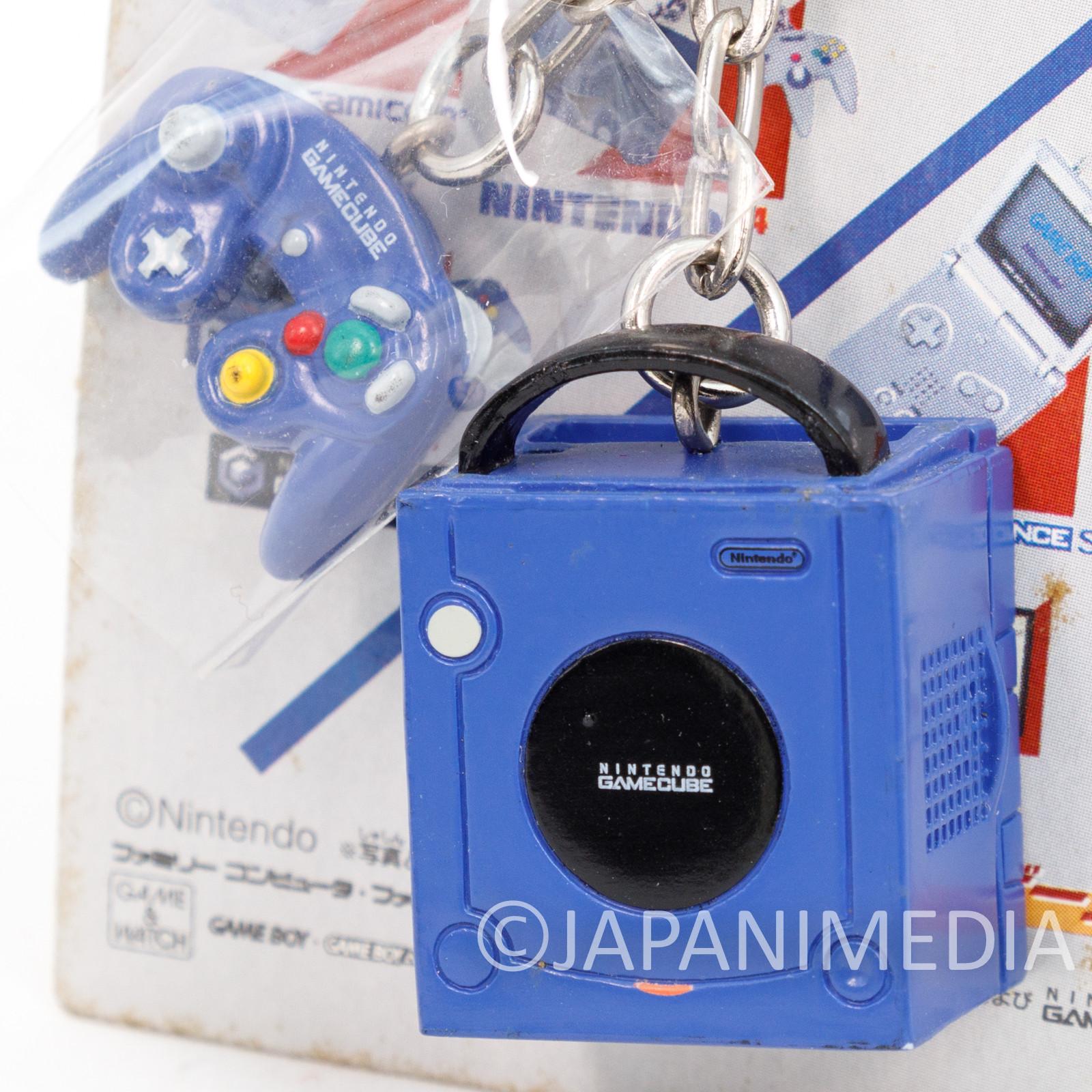 Nintendo Game Console History Miniature Figure Key Chain Game Cube JAPAN 3