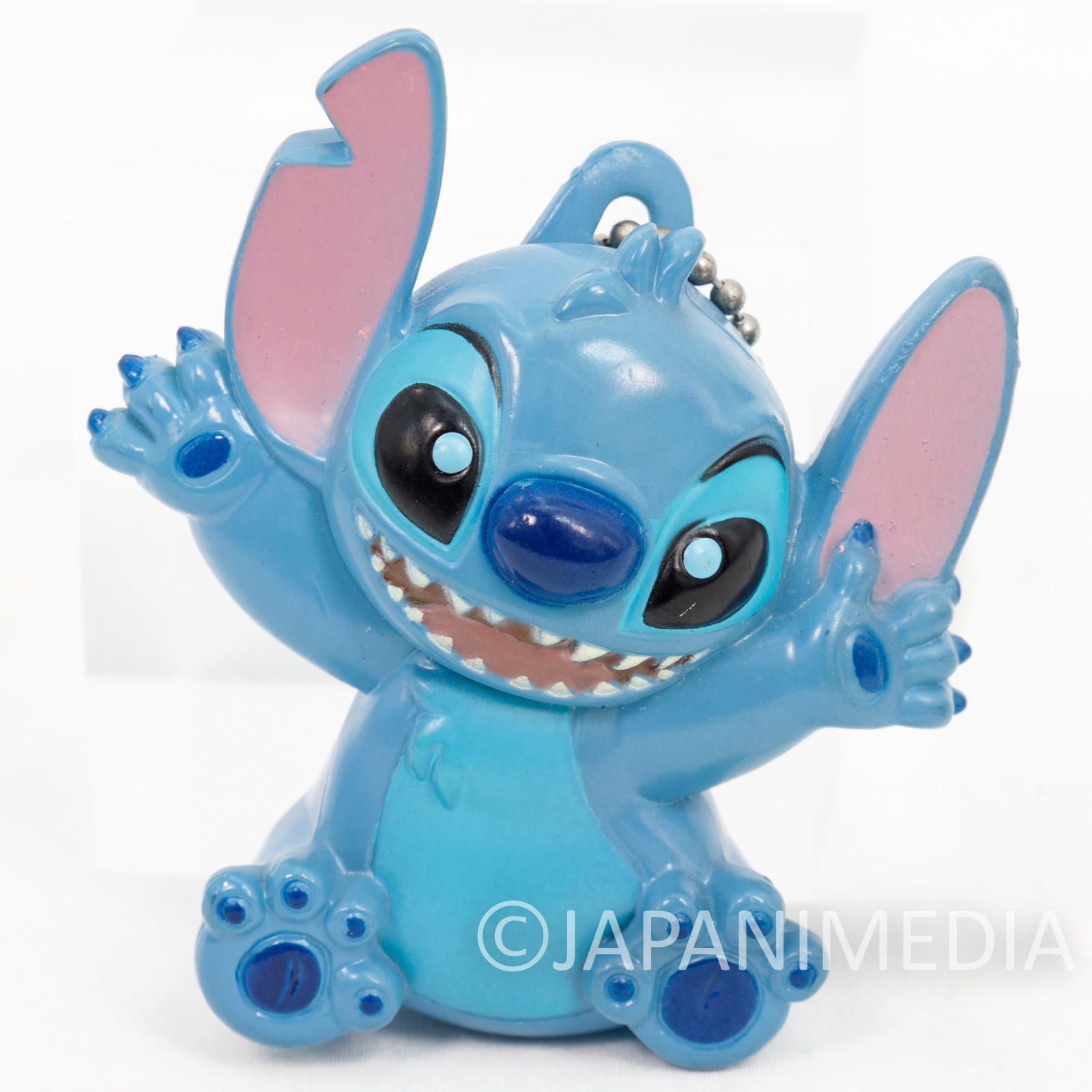 Disney Stitch Mascot Figure Light Pins Ballchain JAPAN ANIME