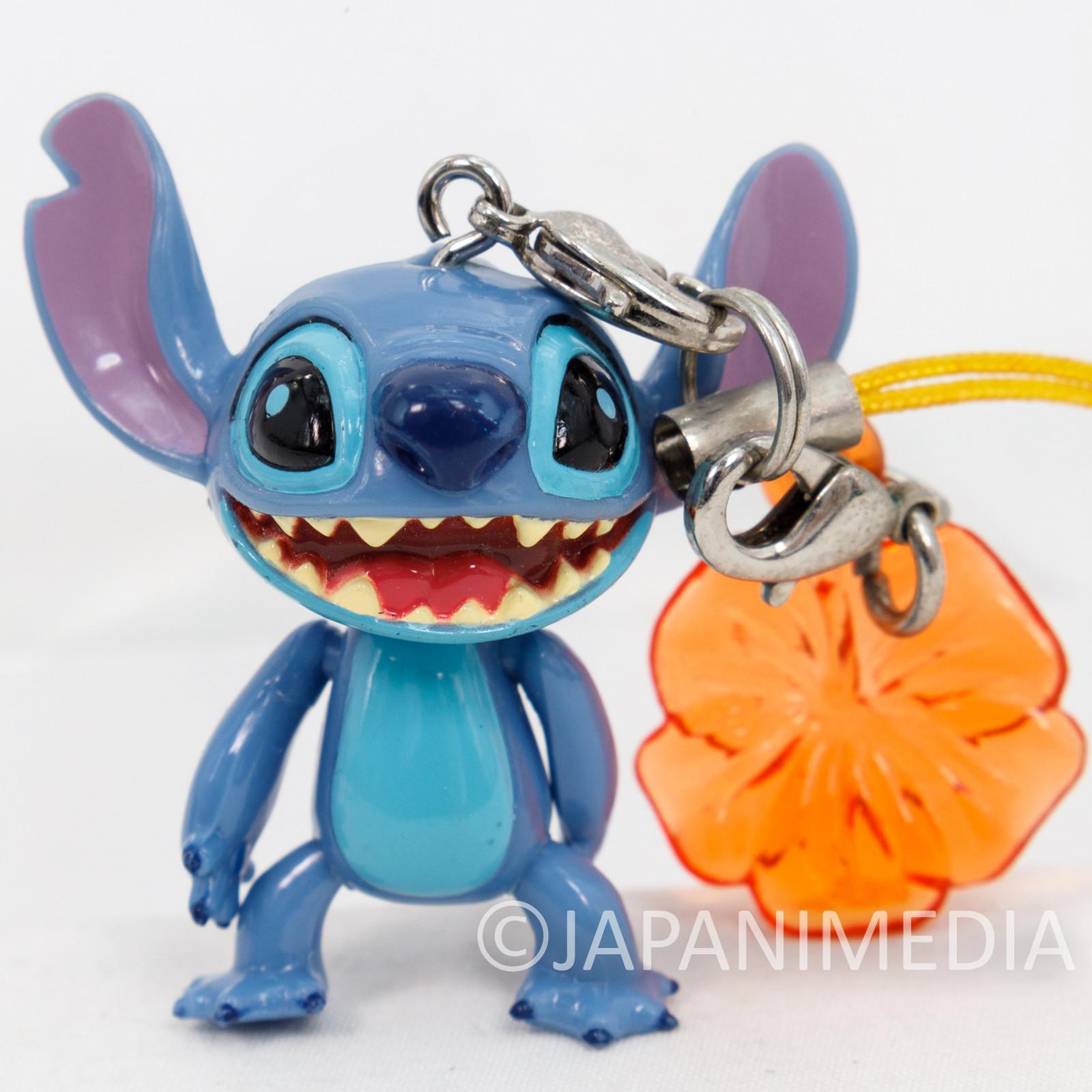 Disney Stitch Mascot Action Figure Strap JAPAN ANIME