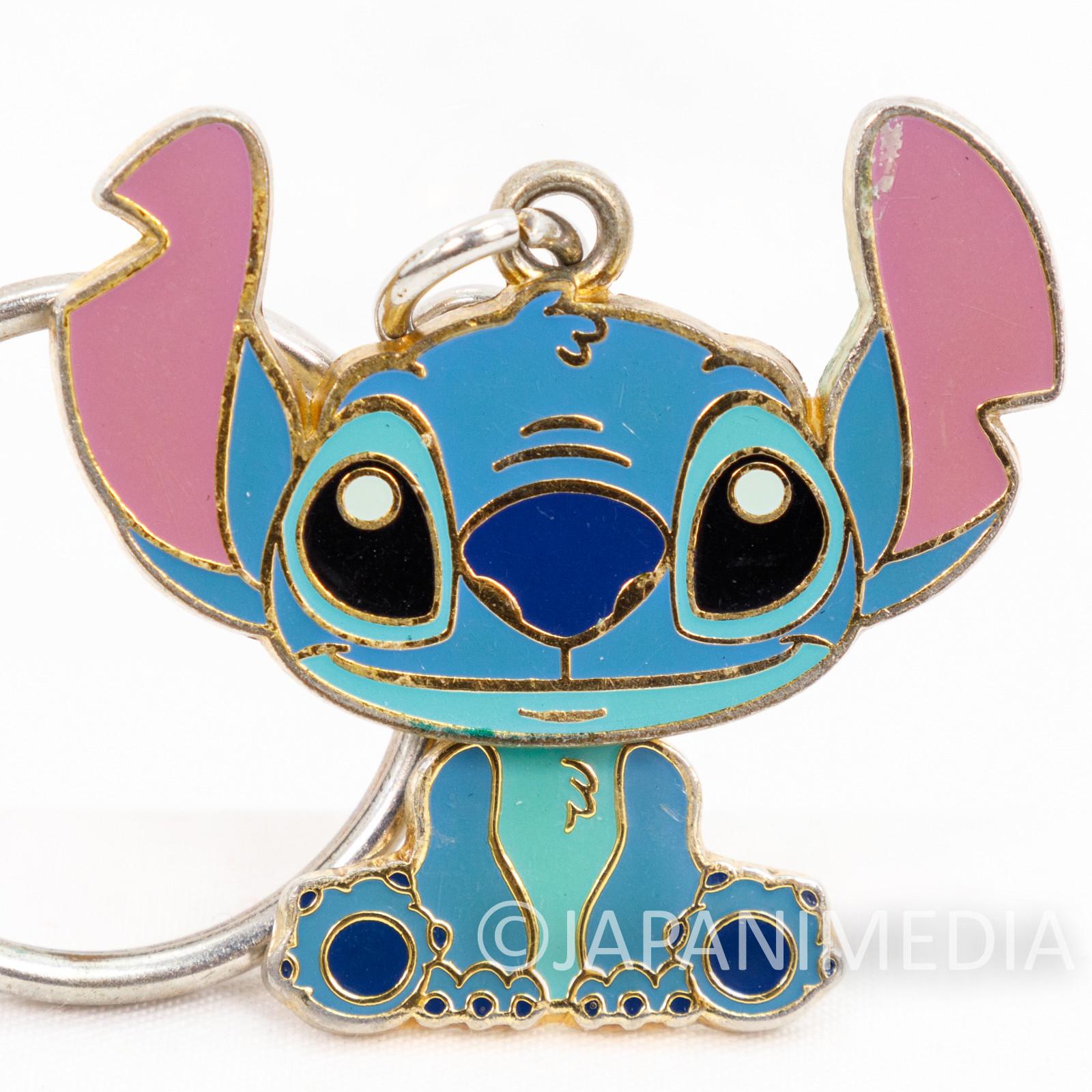 Disney StitchMetal Mascot Keychain JAPAN ANIME