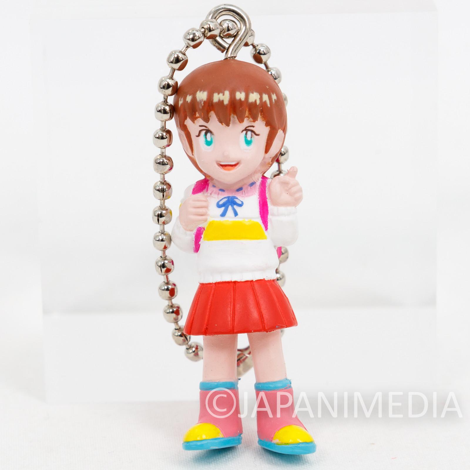 Retro RARE! Kosodate Quiz My Angel Figure Ballchain Namco Collection Playstation