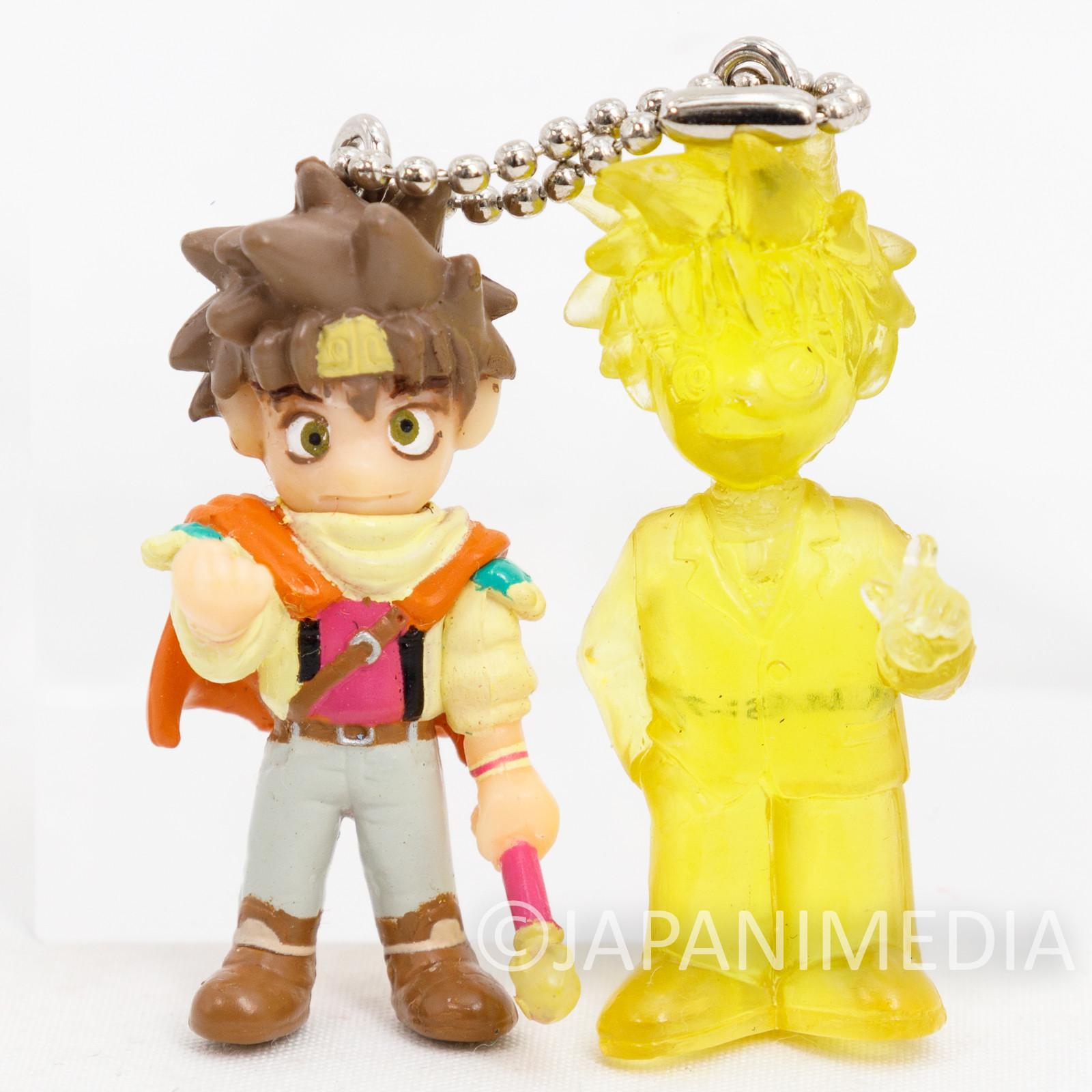 Gensomaden SAIYUKI Son Goku Mascot Figure Twin Keychain JAPAN ANIME MANGA 2