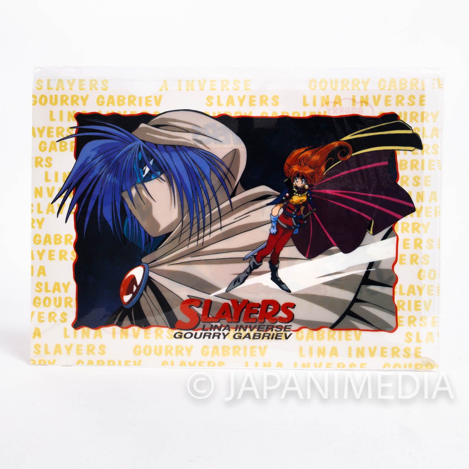 Slayers Clear File Folder [Lina / Gourry / Zelgadiss] JAPAN ANIME