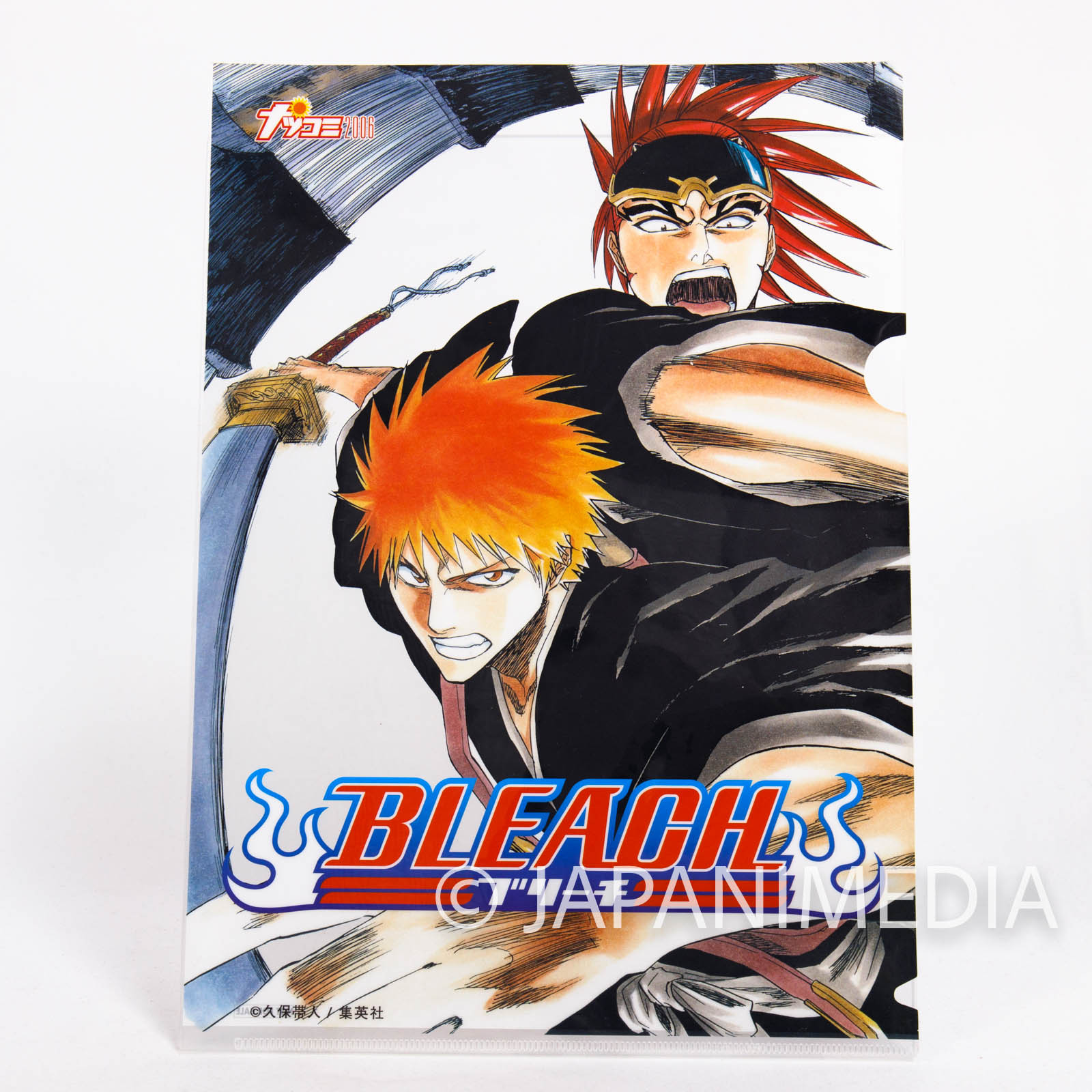 BLEACH Clear File Folder Natsucomi 2006 Jump [Ichigo / Renji] JAPAN MANGA