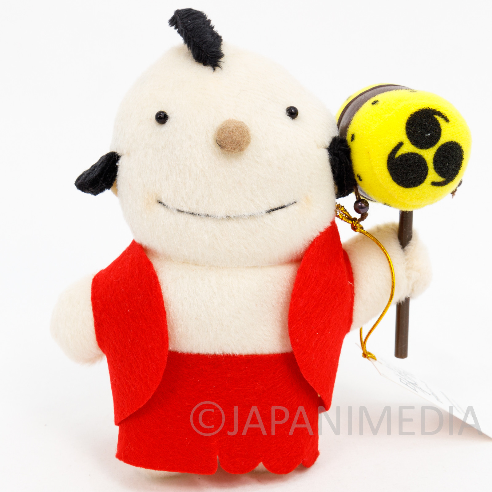 RARE! Manga Nippon Mukashibanashi Taro Plush Doll JAPAN ANIME