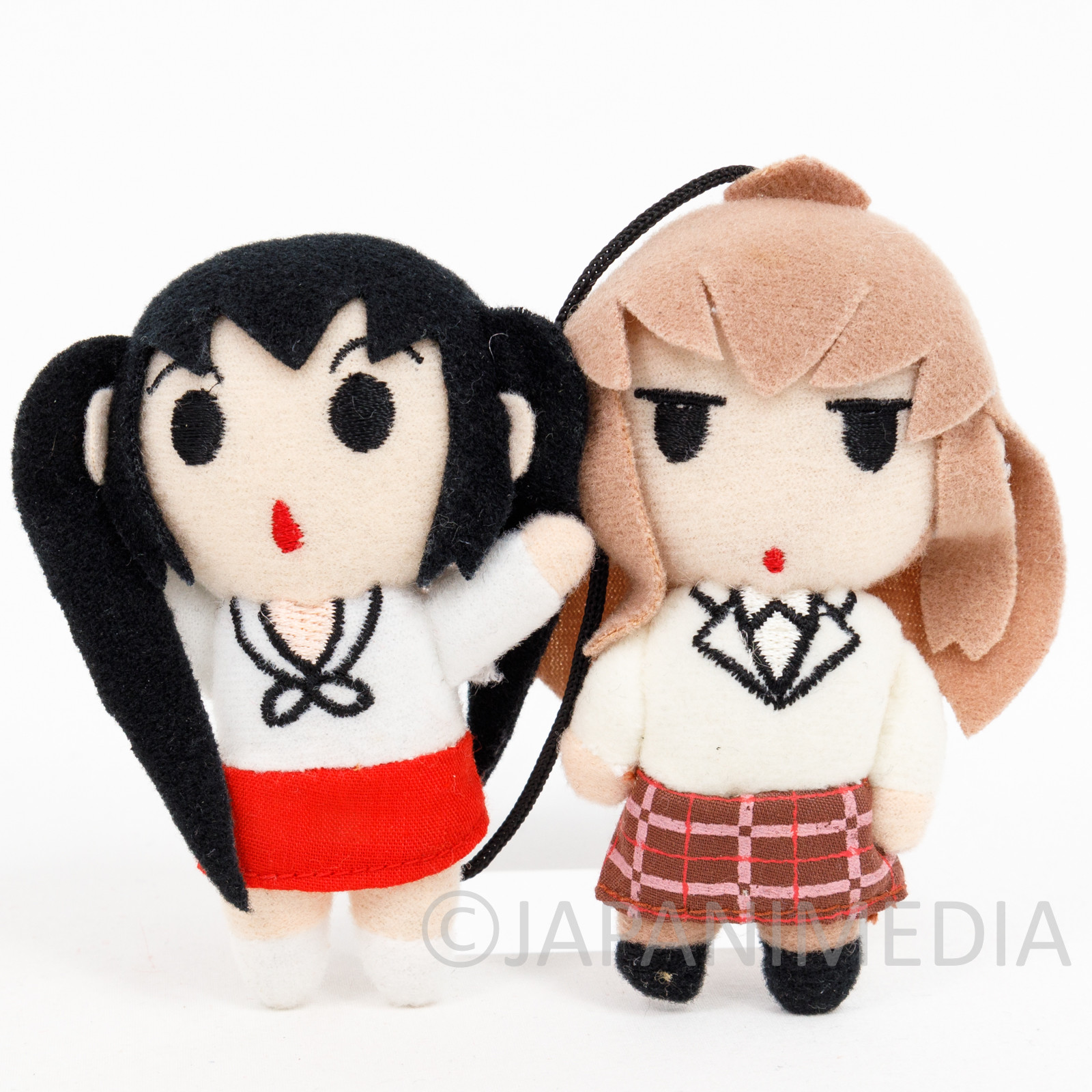 Minamike Natuna & Chiaki Small Plush Doll Set JAPAN MANGA ANIME