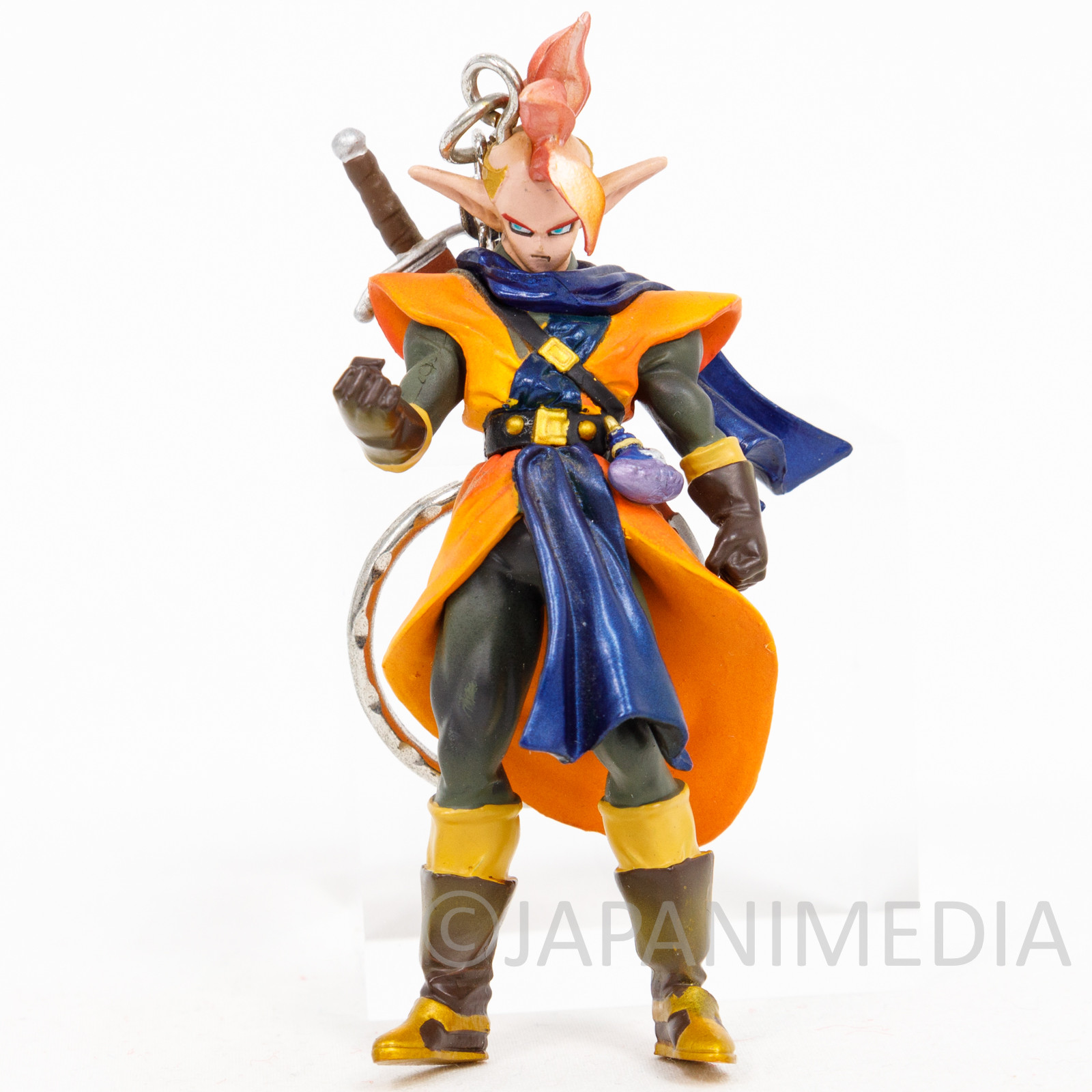 Dragon Ball Z Tapion Figure Key Chain Holder JAPAN ANIME MANGA