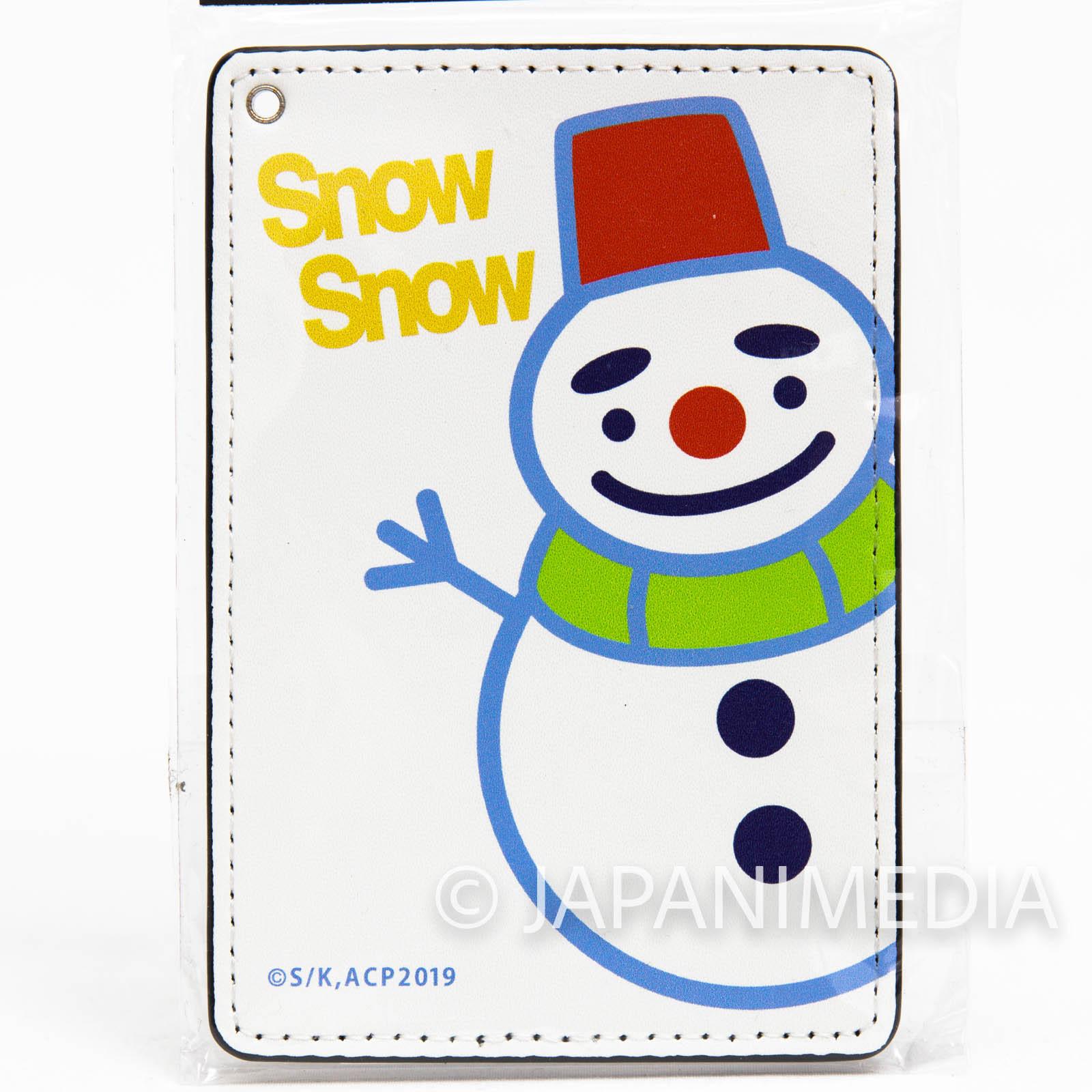 Chihayafuru Snowmaru Full color Card case JAPAN ANIME