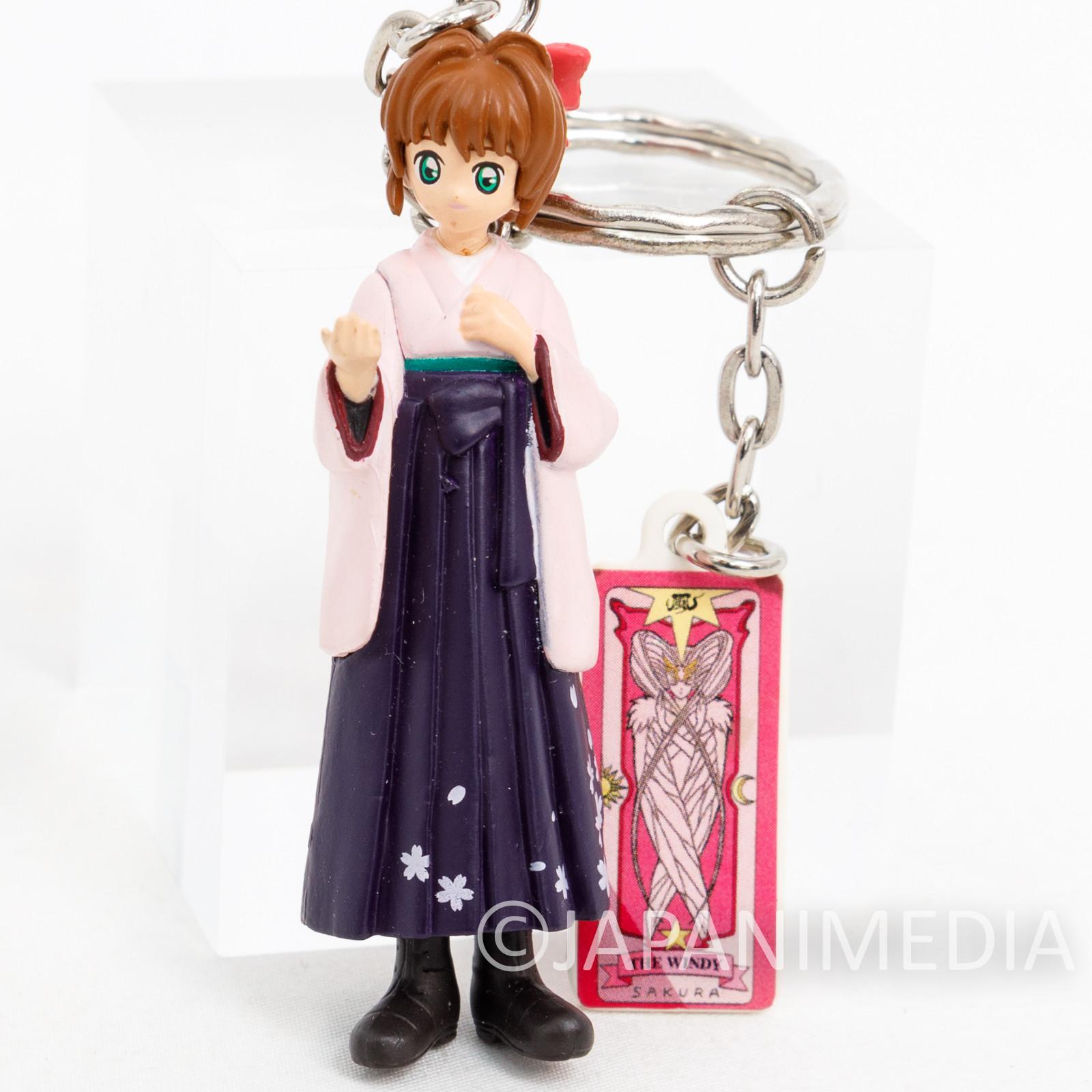Cardcaptor Sakura Hakama ver. Figure Keychain CLAMP JAPAN ANIME