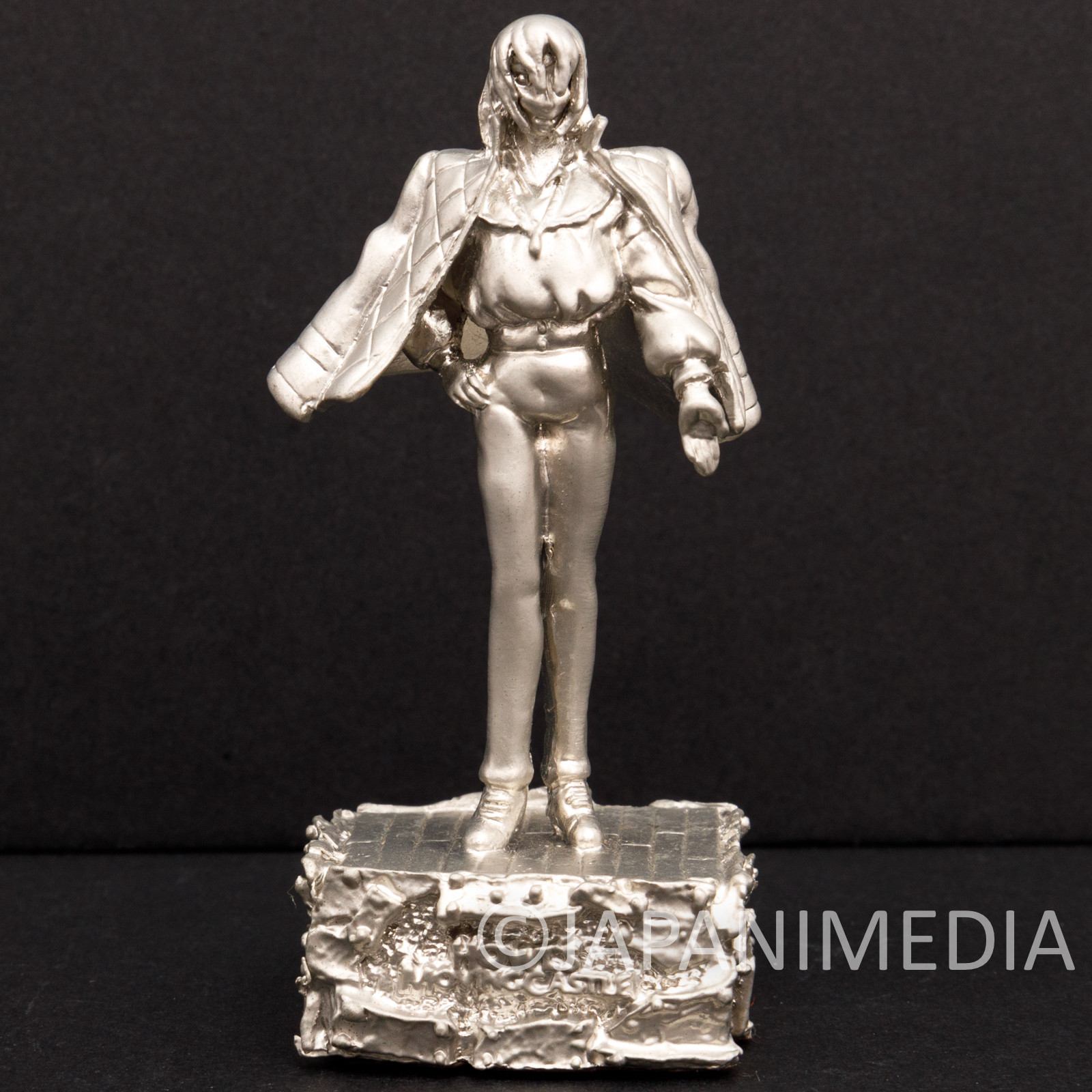 Howl's Moving Castle Howl Small White Metal Figure Benelic Ghibli JAPAN