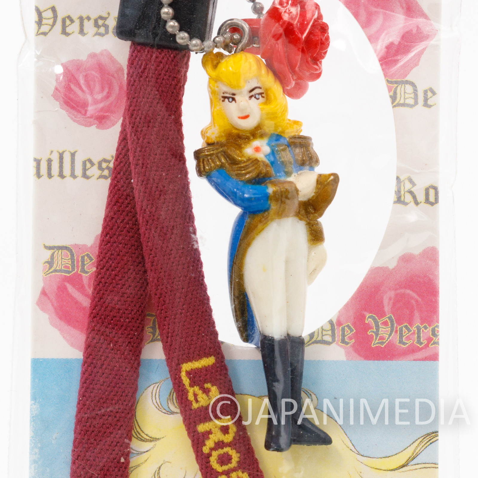 Retro The Rose of Versailles Oscar Figure Strap Sunlike JAPAN ANIME MANGA