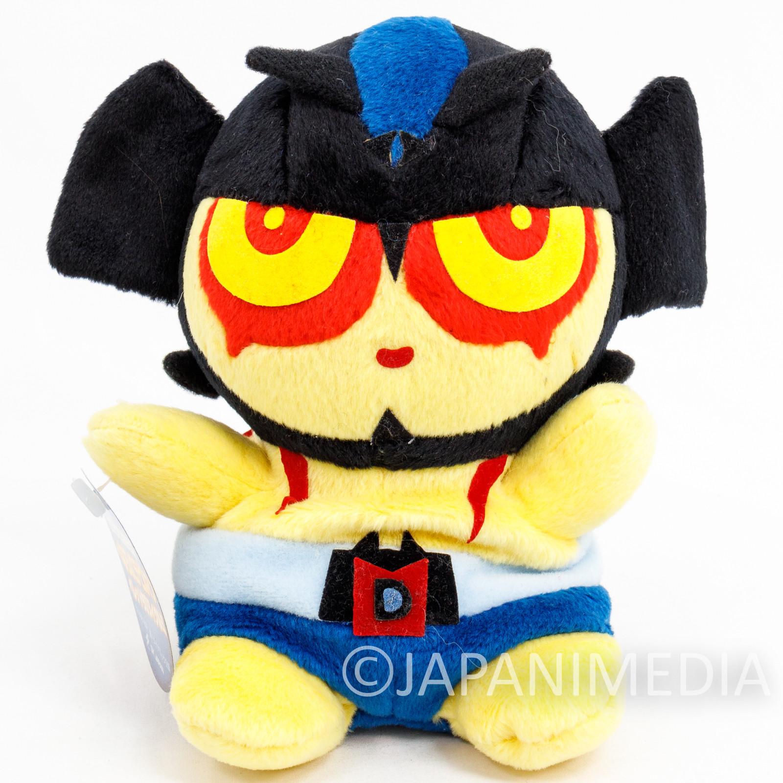 "Devilman Pellet Filled Plush Doll 6"" Yellow SK Japan JAPAN ANIME"