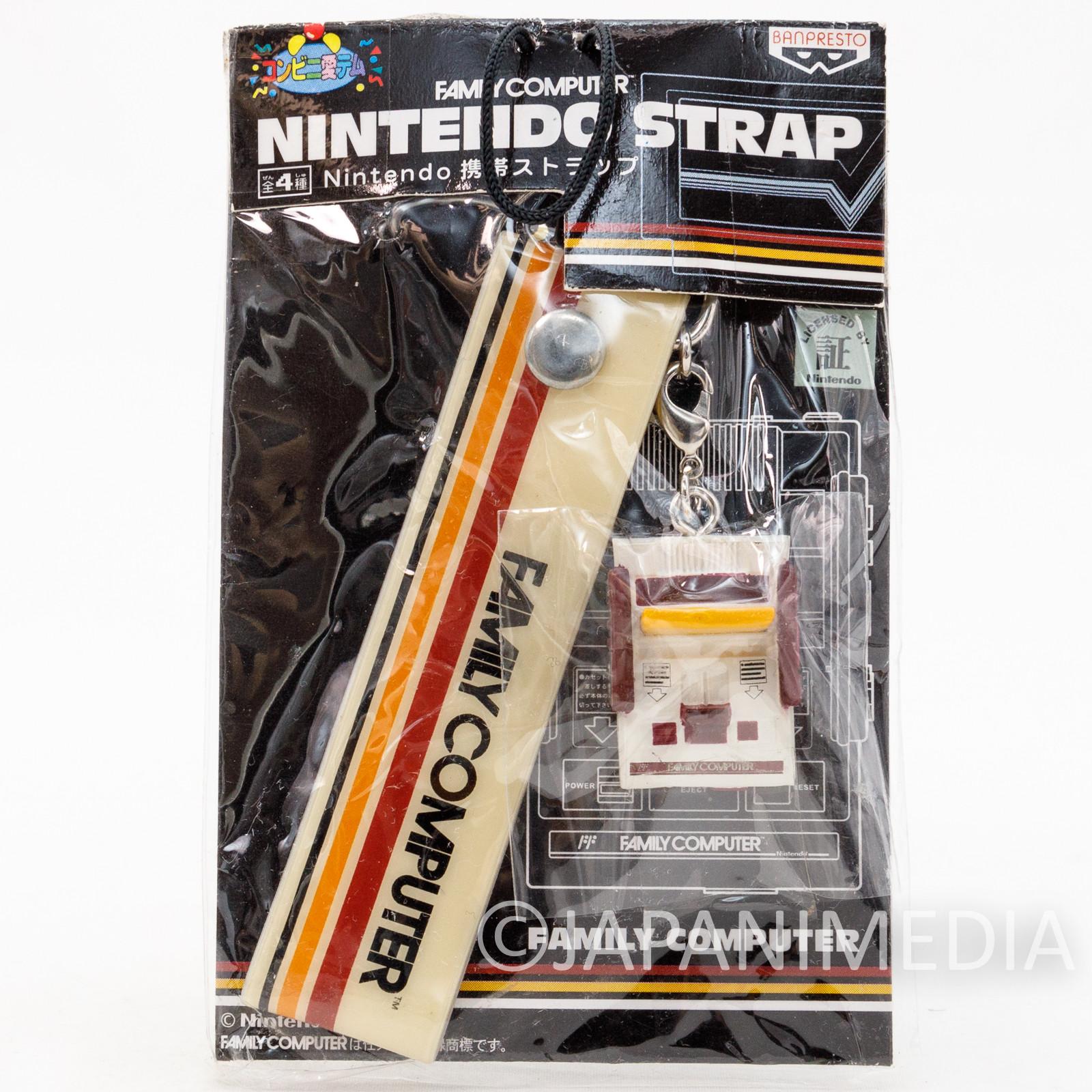Nintendo Famicom Miniature Figure Strap Family Computer Ver. JAPAN GAME NES