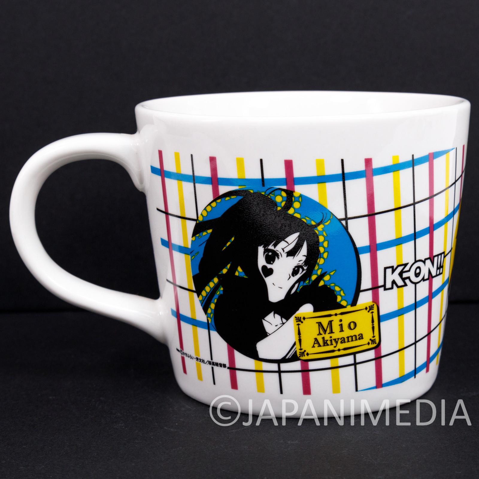 K-ON Mio Ritsu Tsumugi Death Devil ver. Mug JAPAN KYOTO ANIMATION