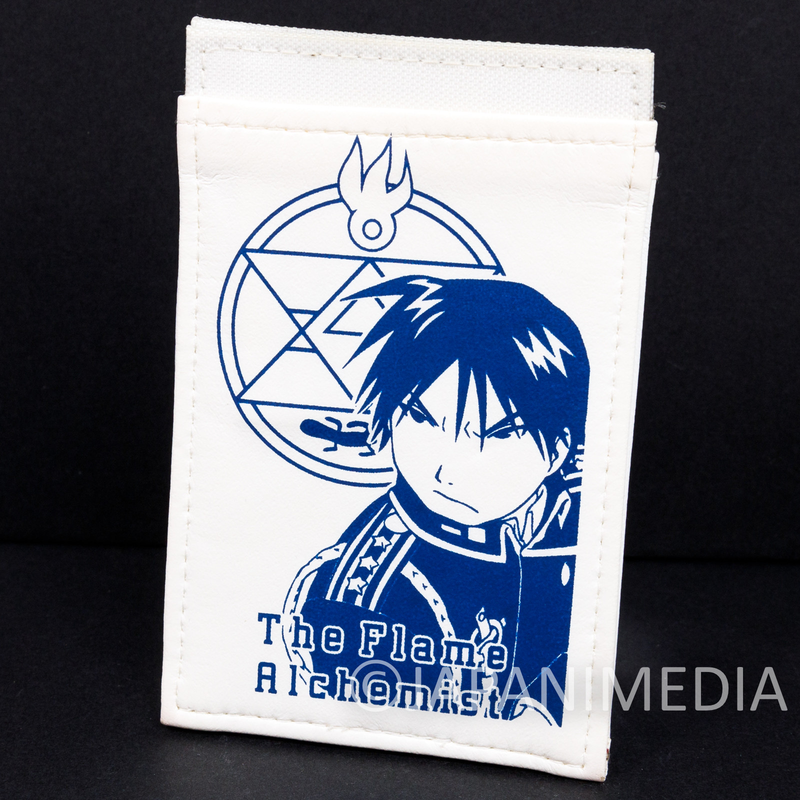 Fullmetal Alchemist Roy Mustang Pass Card Case Holder JAPAN ANIME