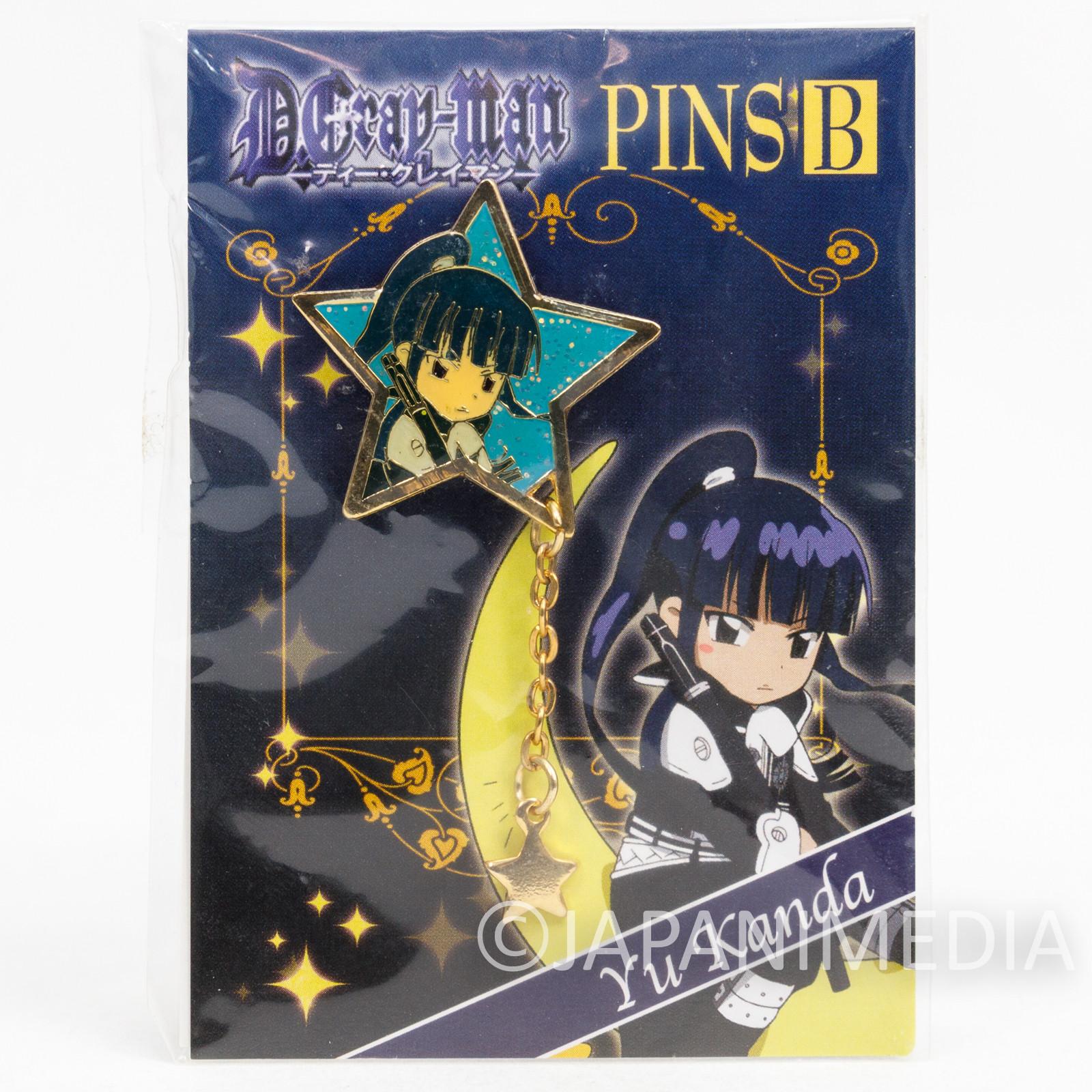 D.Gray-man Yu Kanda Metal Pins JAPAN ANIME MANGA 2