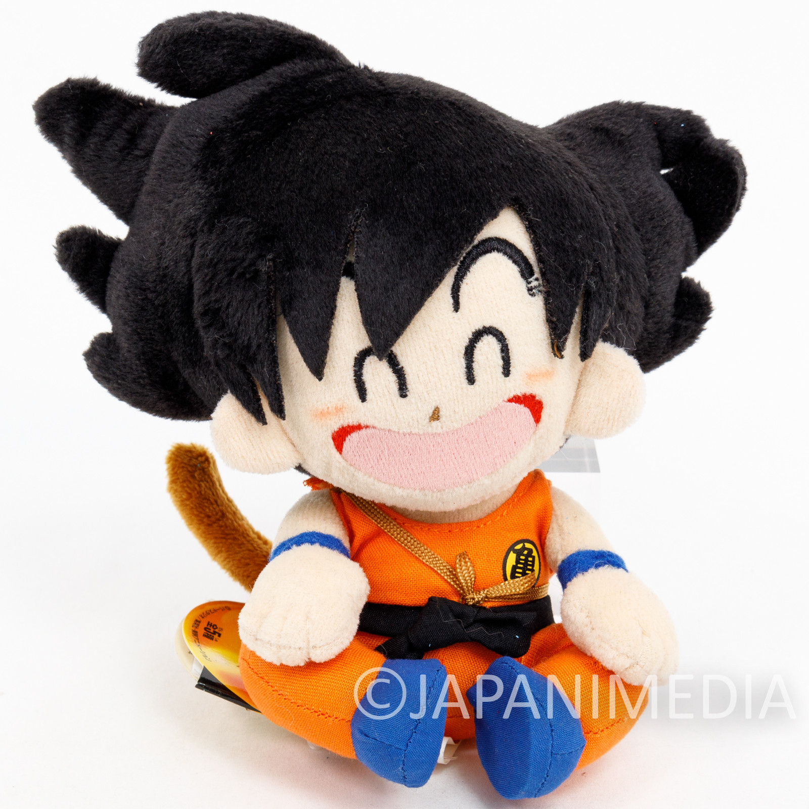 Dragon Ball Son Gokou Boy Plush Doll Banpresto JAPAN ANIME MANGA