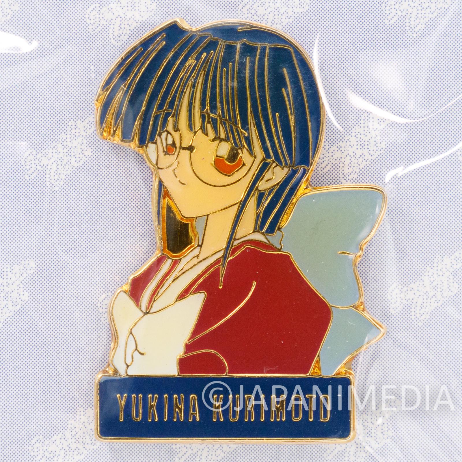 Seraphim Call Metal Pins Yukina Kurimoto Media Works JAPAN ANIME