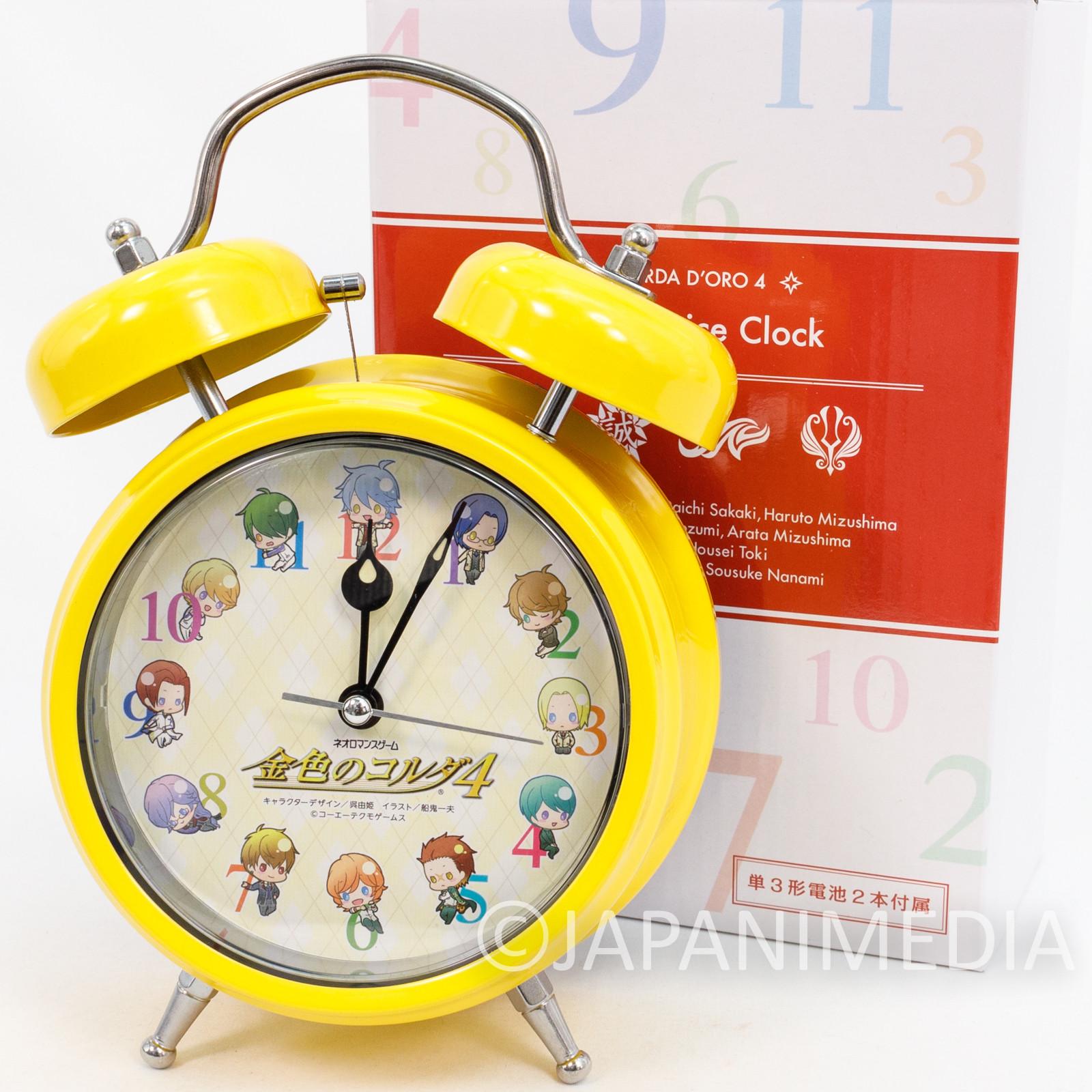 Kiniro no Corda 4 La Corda D'oro Voice Alarm Clock JAPAN ANIME