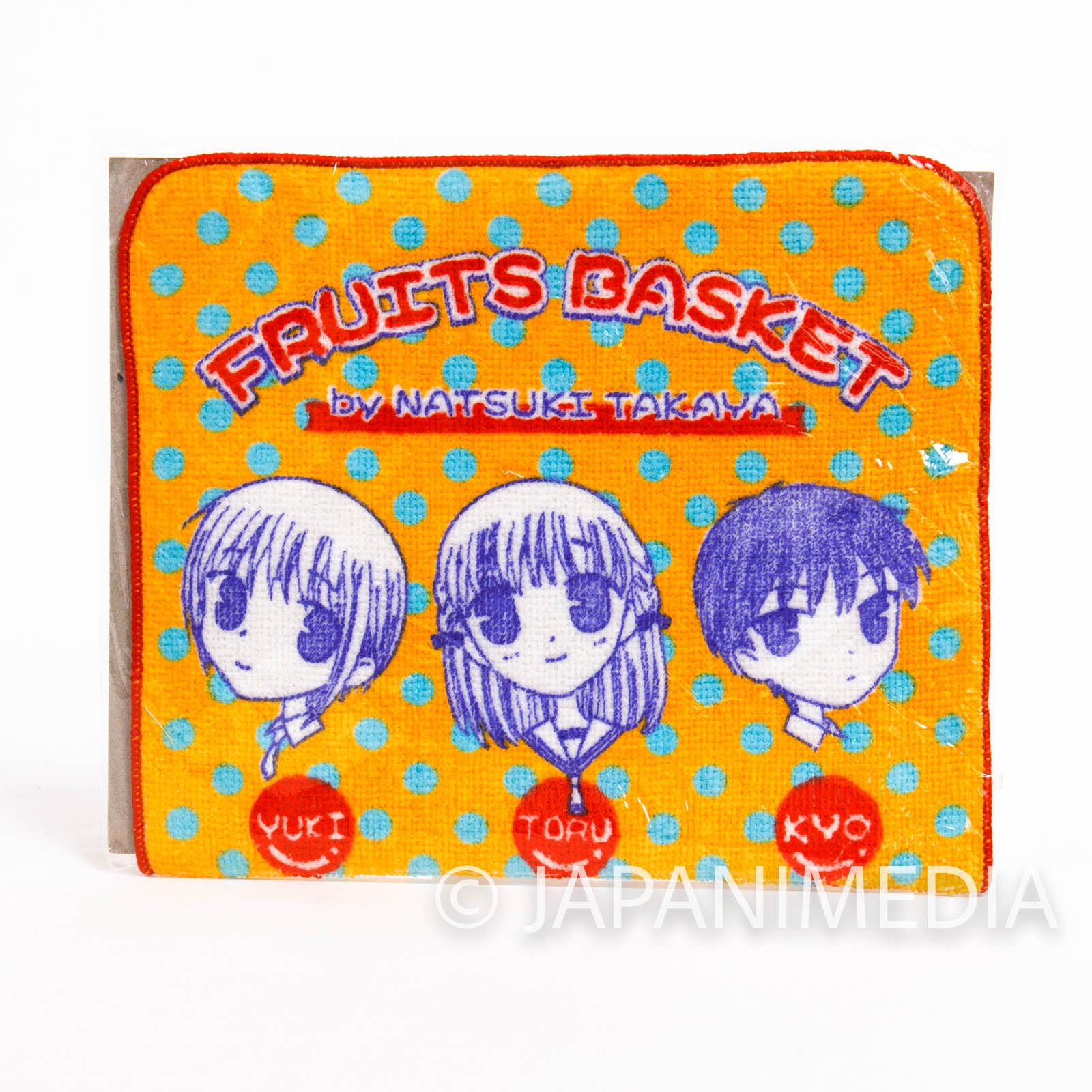 Fruits Basket Mini Towel [Tohru / Yuki / Kyo] JAPAN ANIME