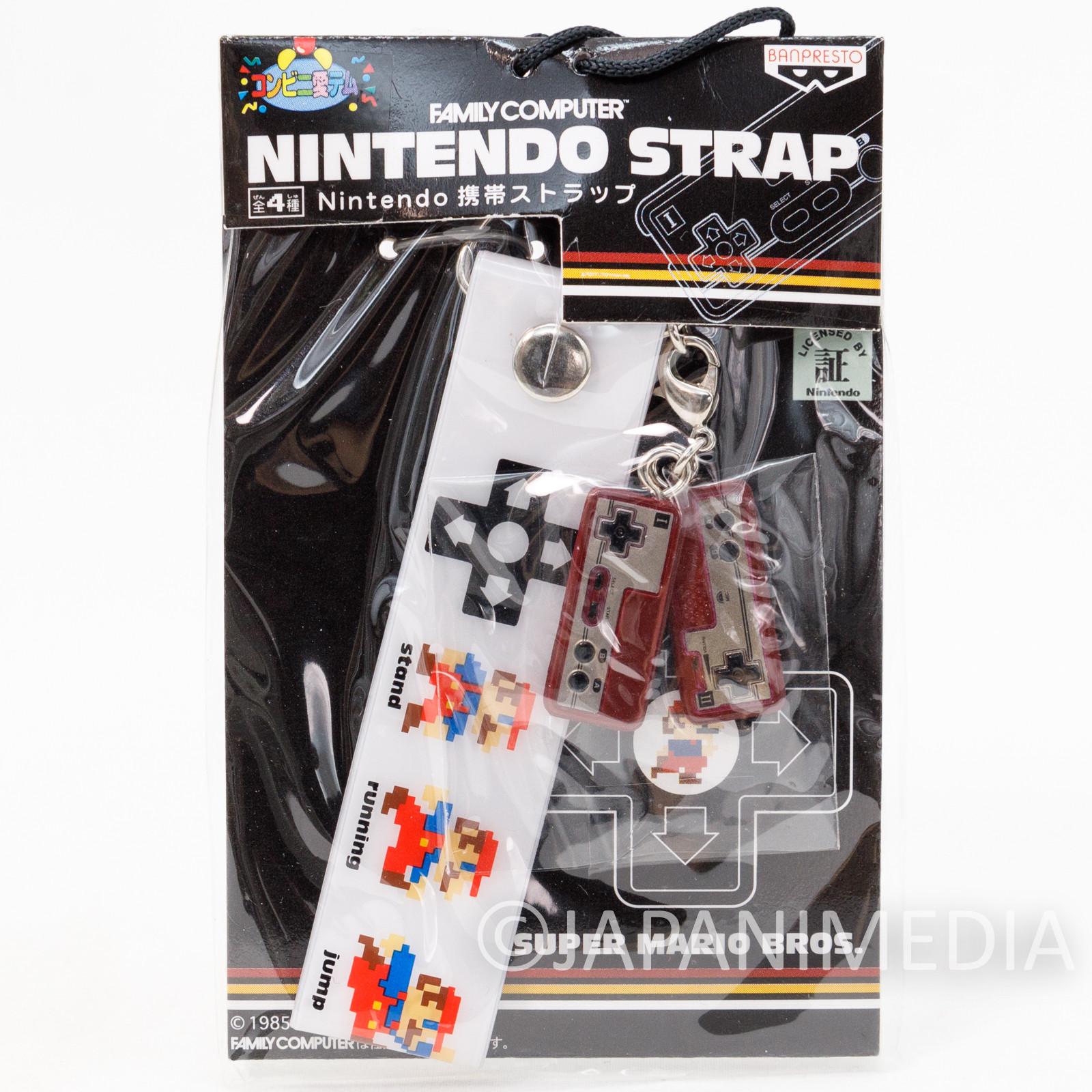 Nintendo Famicom Miniature Figure Strap Super Mario Bros. Ver. 3 JAPAN GAME NES