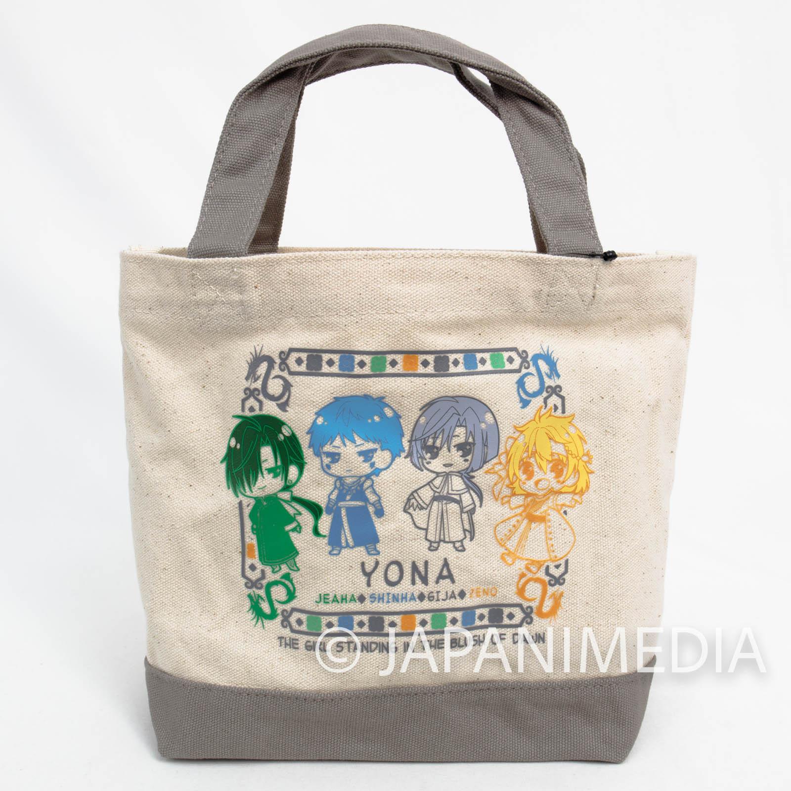 Yona of the Dawn Mini Tote bag  [Kija | Sinha | Jaeha | Zeno | Ao] JAPAN MANGA