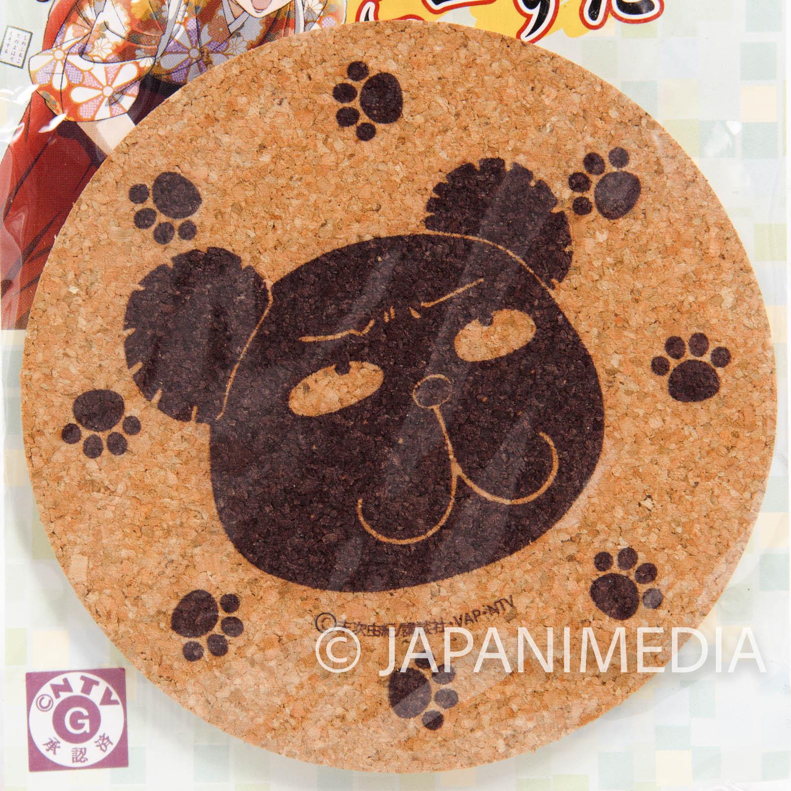 Chihayafuru Daddy Bear Corkcoaster JAPAN ANIME