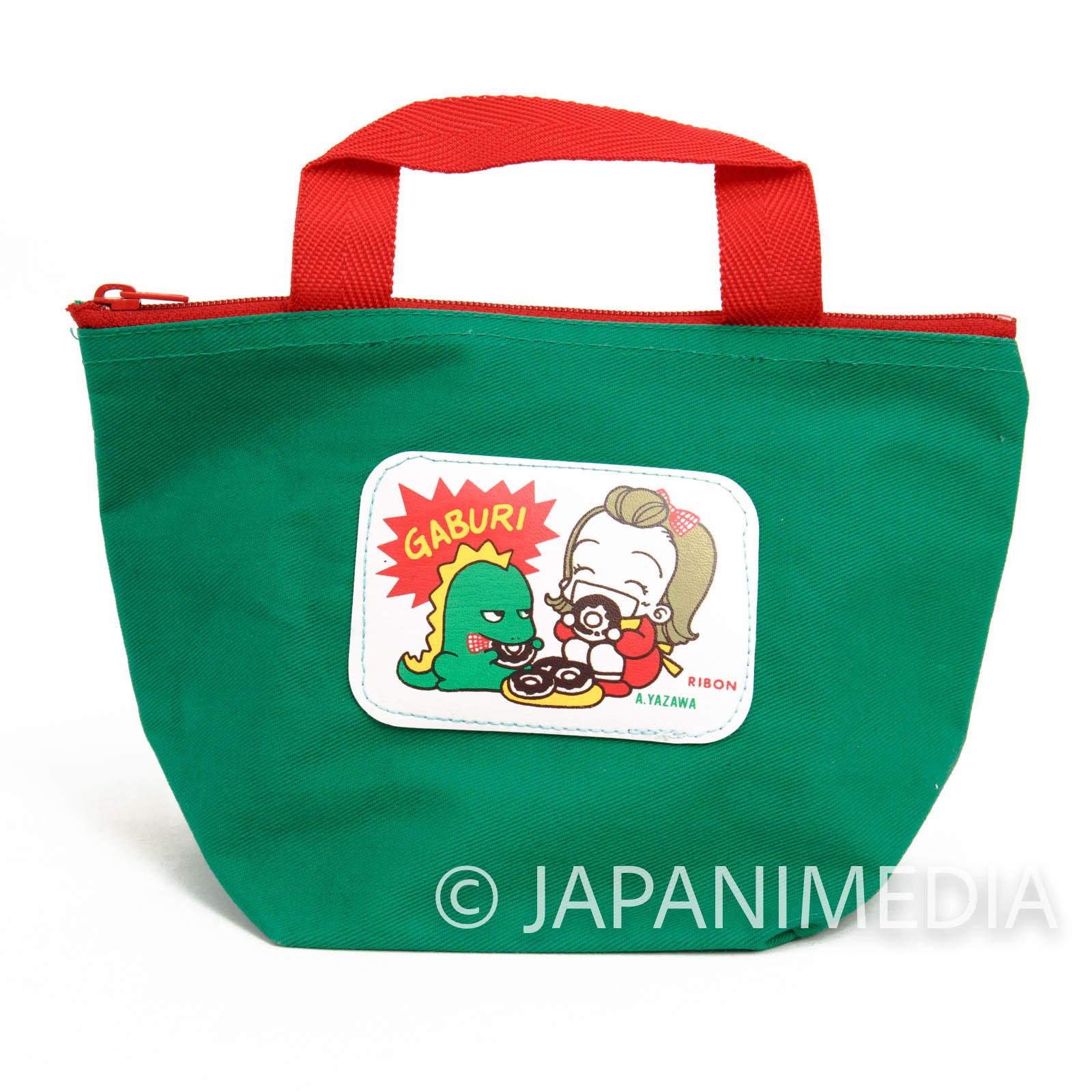 Retro RARE! Tenshi Nanka ja Nai Midori & Sudo Zaurus Mini Bag RIBON JAPAN MANGA