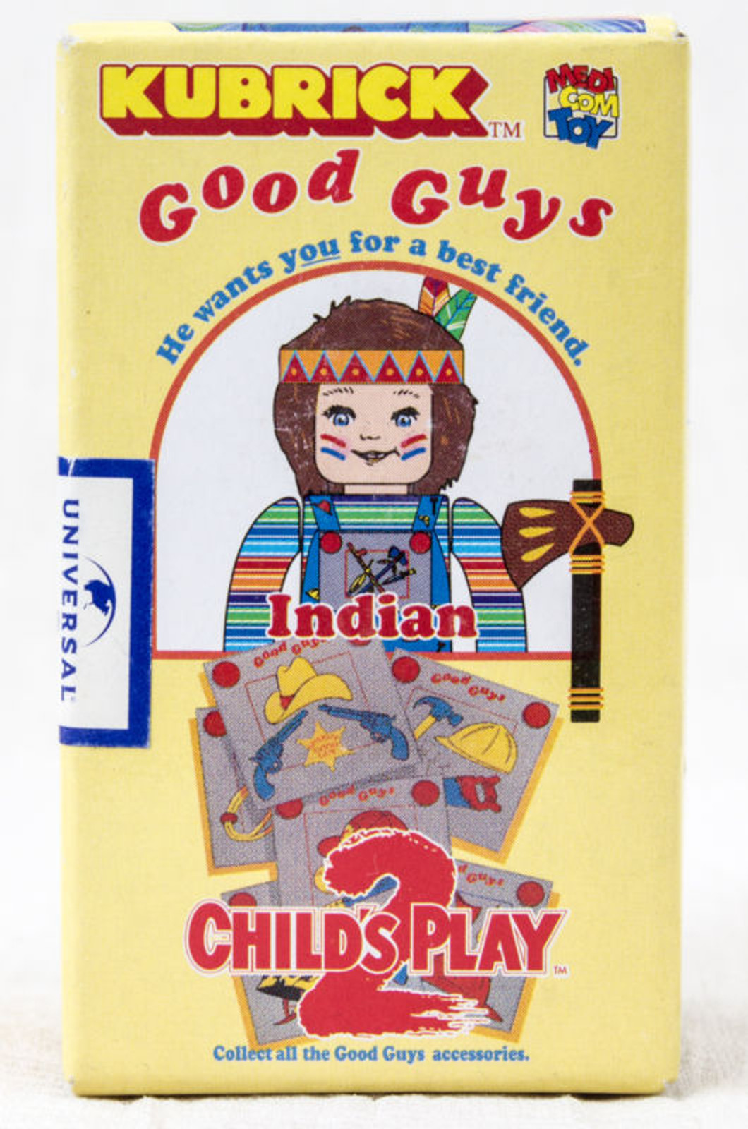 Child's Play 2 Good Guys Indian Chucky Figure Kubrick Medicom Toy JAPAN ANIME