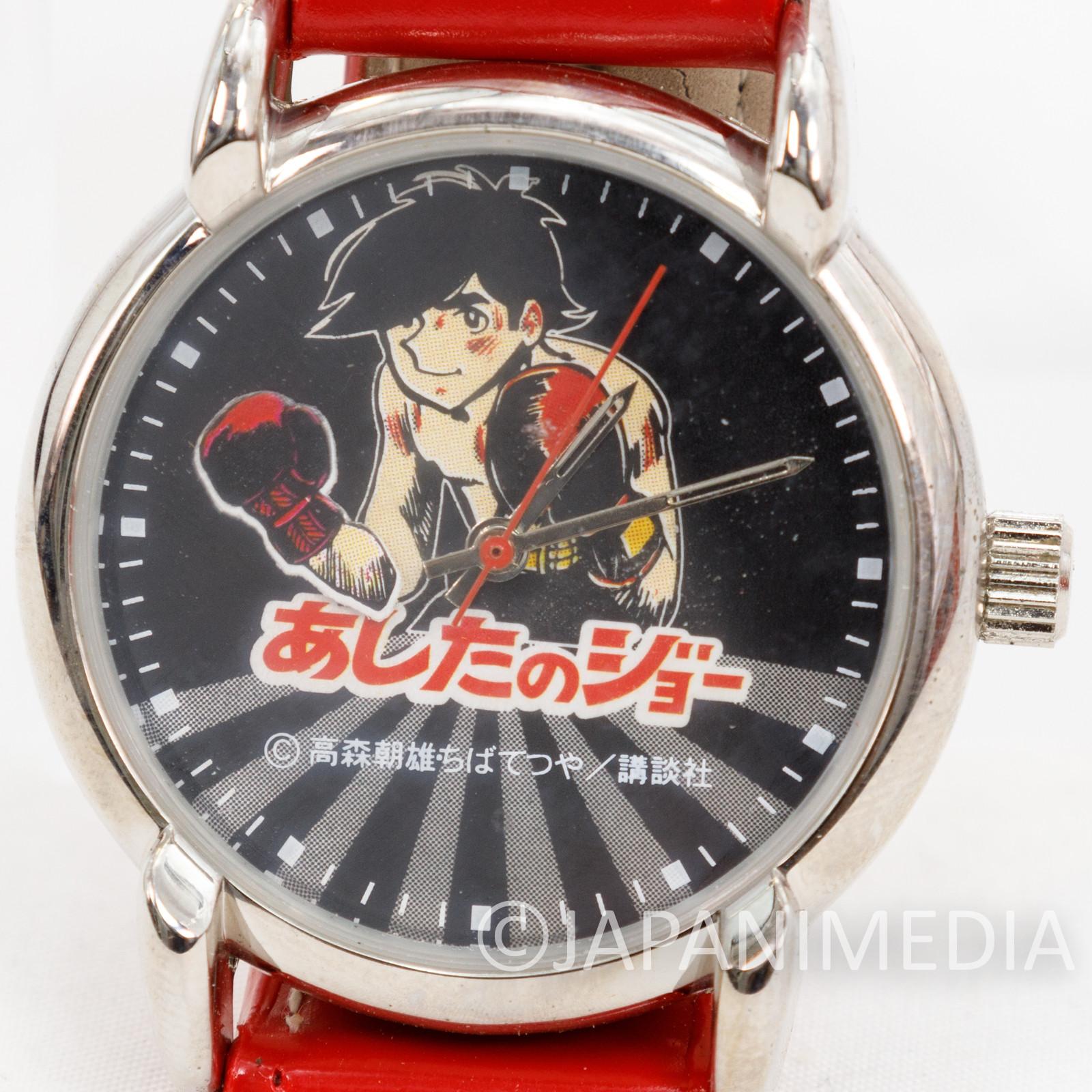 Ashita no Joe Yabuki Joe Hand-winding Wrist Watch Red JAPAN ANIME MANGA