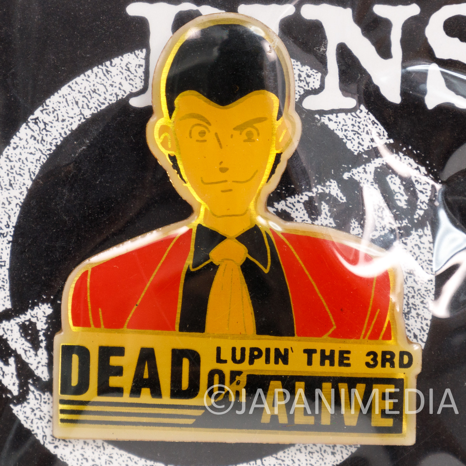Lupin the Third (3rd) Dead or Alive Metal Pins JAPAN ANIME 1