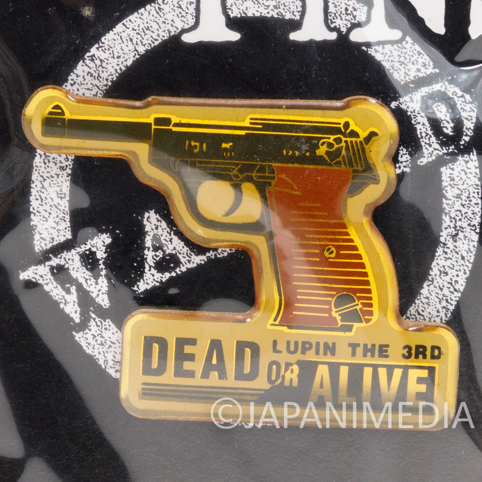 Lupin the Third (3rd) Dead or Alive Metal Pins JAPAN ANIME 2