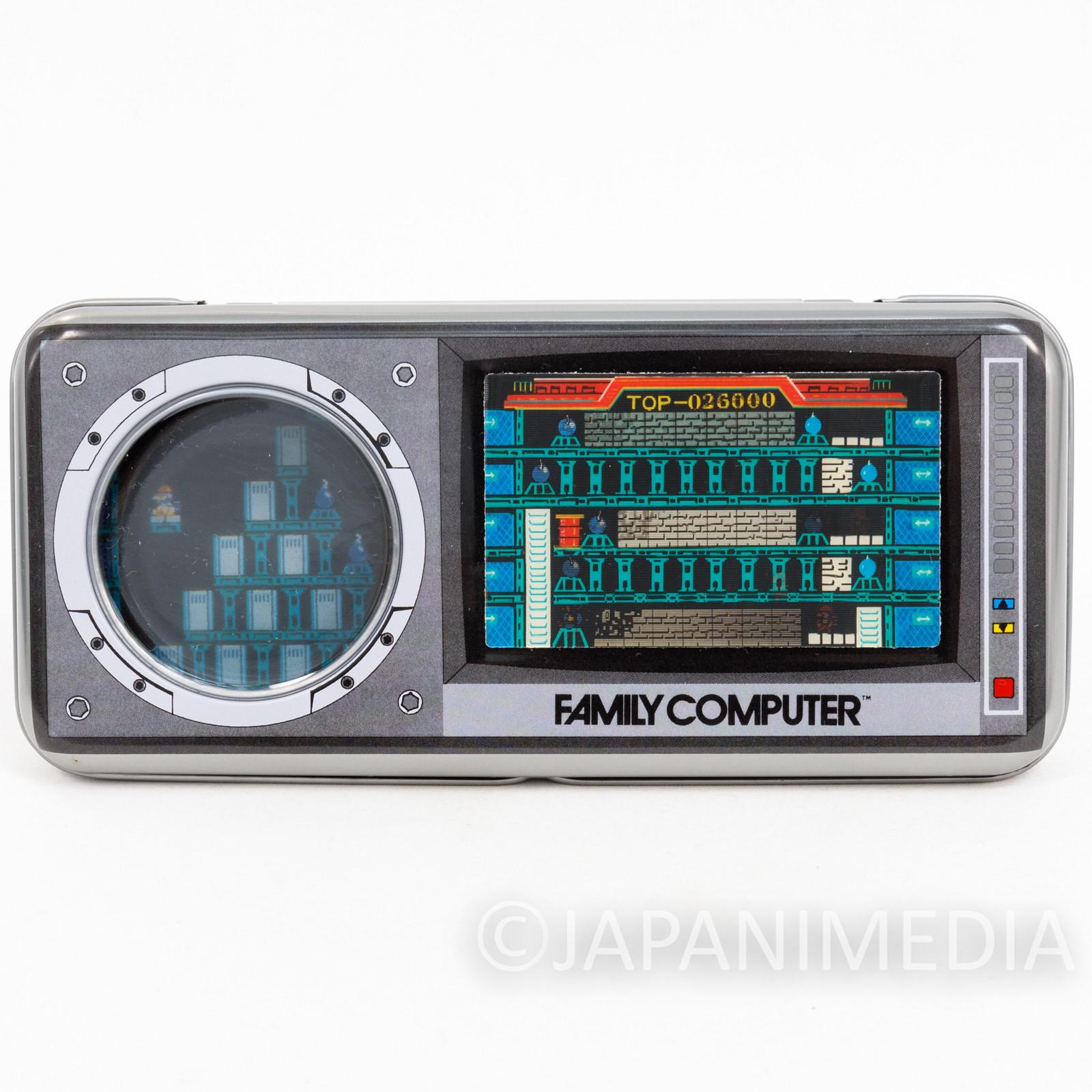 Retro RARE! Wrecking Crew Can Pen Case NES Famicom Nintendo