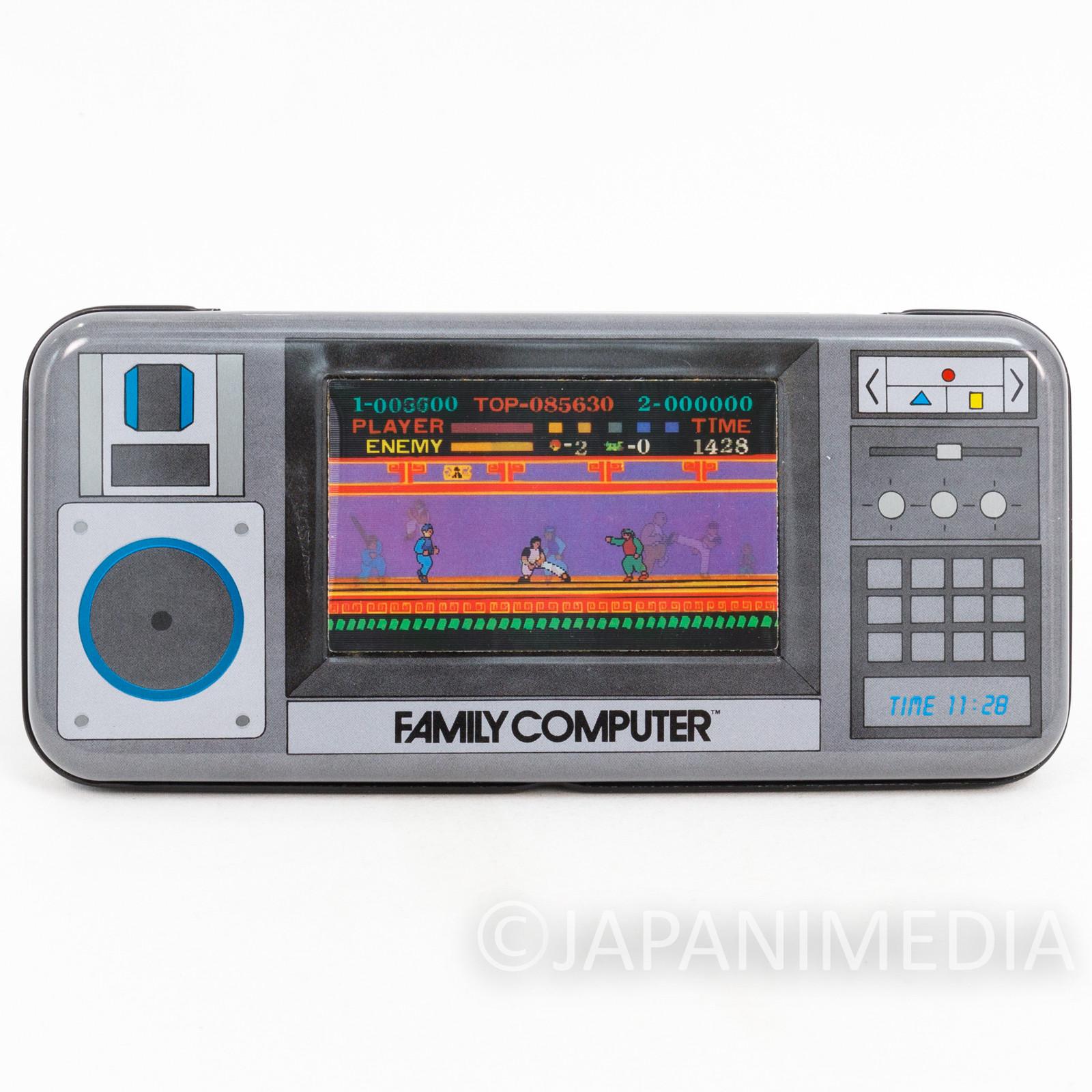 Retro RARE! Spartan X Kung-Fu Master Can Pen Case NES Famicom Nintendo