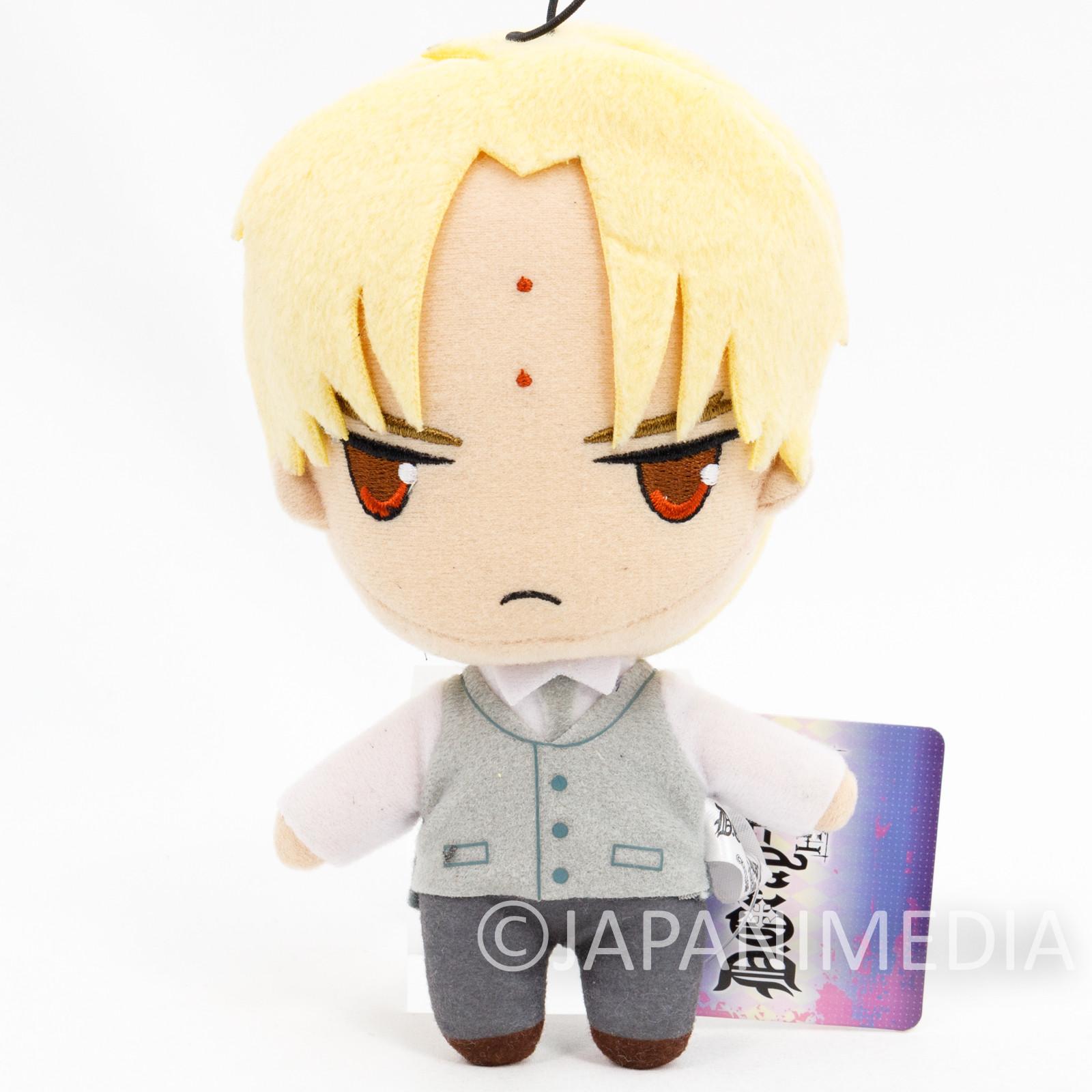 D.Gray-man HALLOW Howard Link Plush Doll JAPAN ANIME MANGA