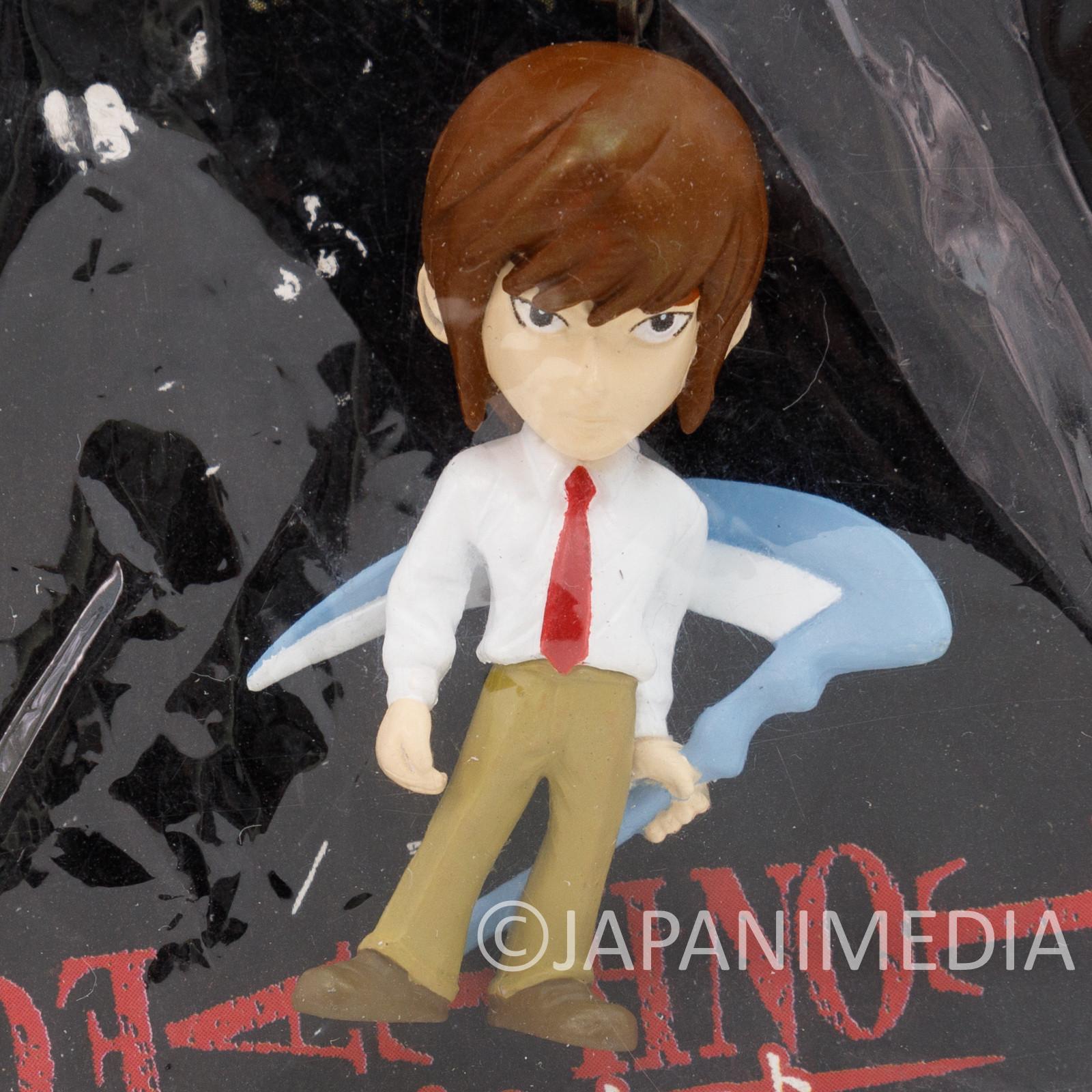 RARE! Death Note Light Yagami Figure Keychain Shonen Jump JAPAN ANIME MANGA