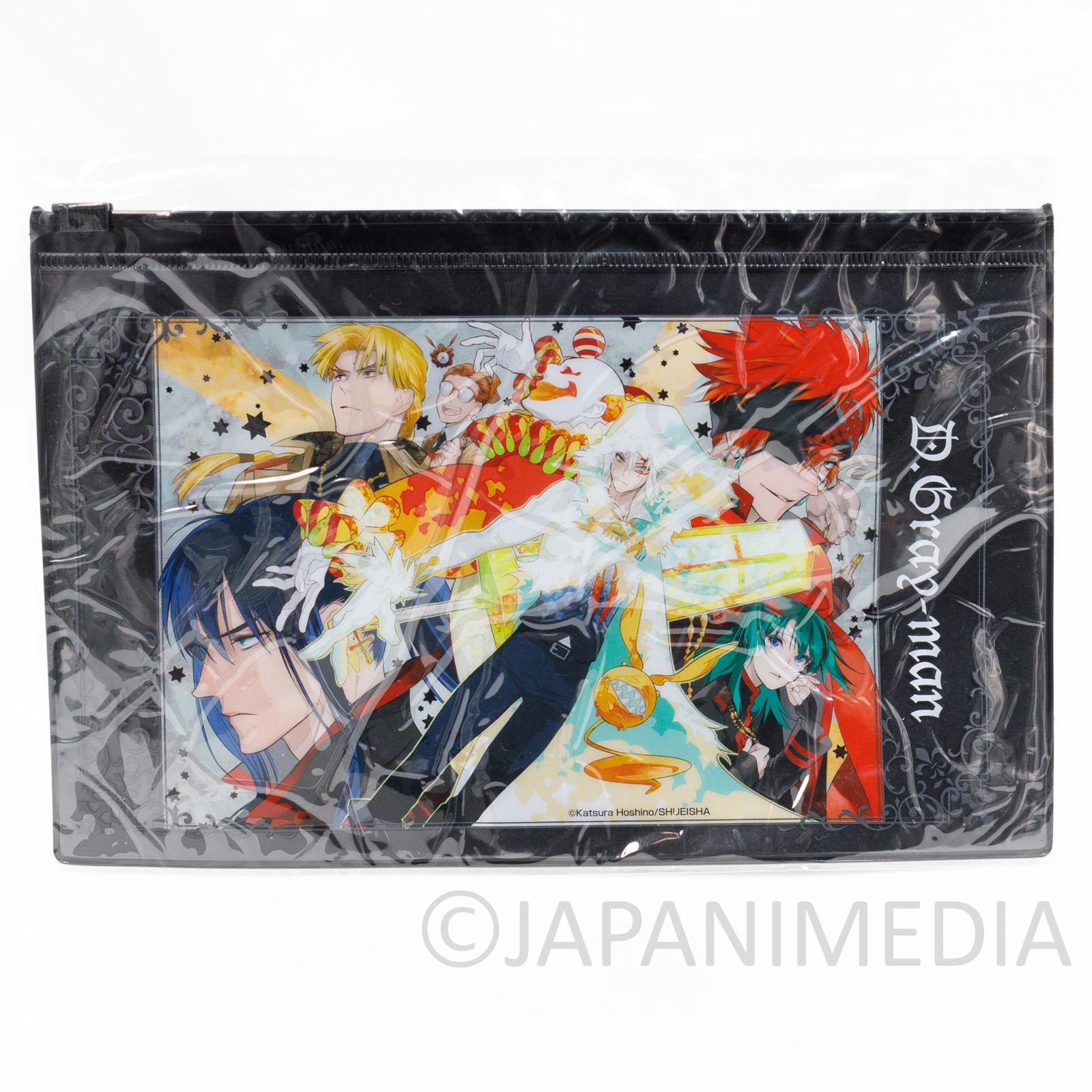 D.Gray-man Vinyl Pouch Shonen Jump Exhibition JAPAN ANIME MANGA