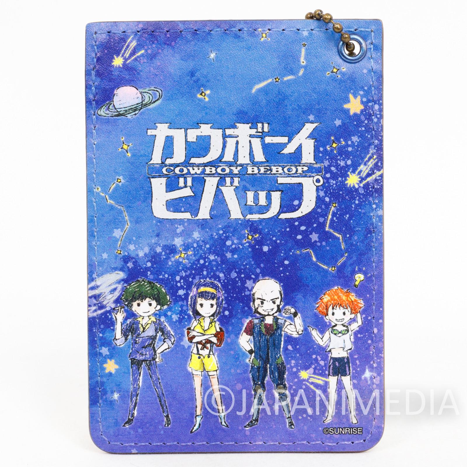 Cowboy Bebop Spike Jet Faye Ed Pass Card Case JAPAN ANIME