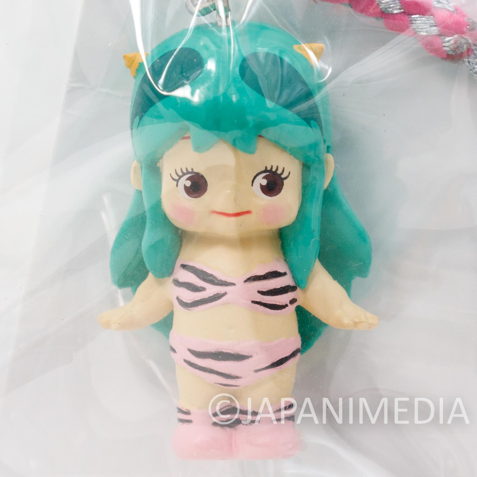 Urusei Yatsura Lum Limited Color Rose O'neill Kewpie Kewsion Figure Strap JAPAN