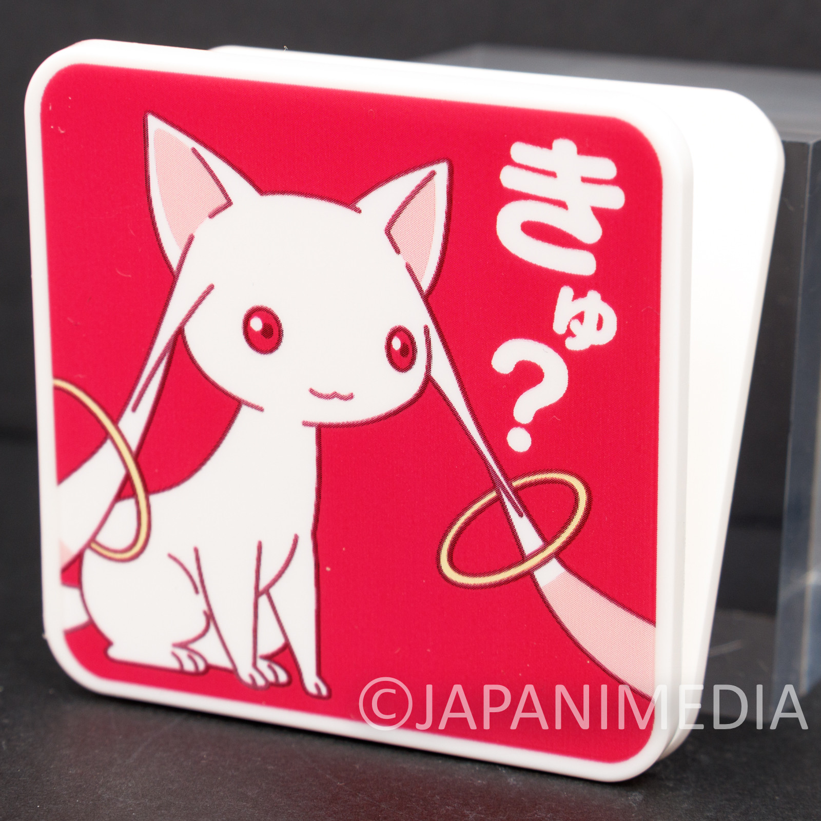 Puella Magi Madoka Kyubey Plastic Clip JAPAN ANIME