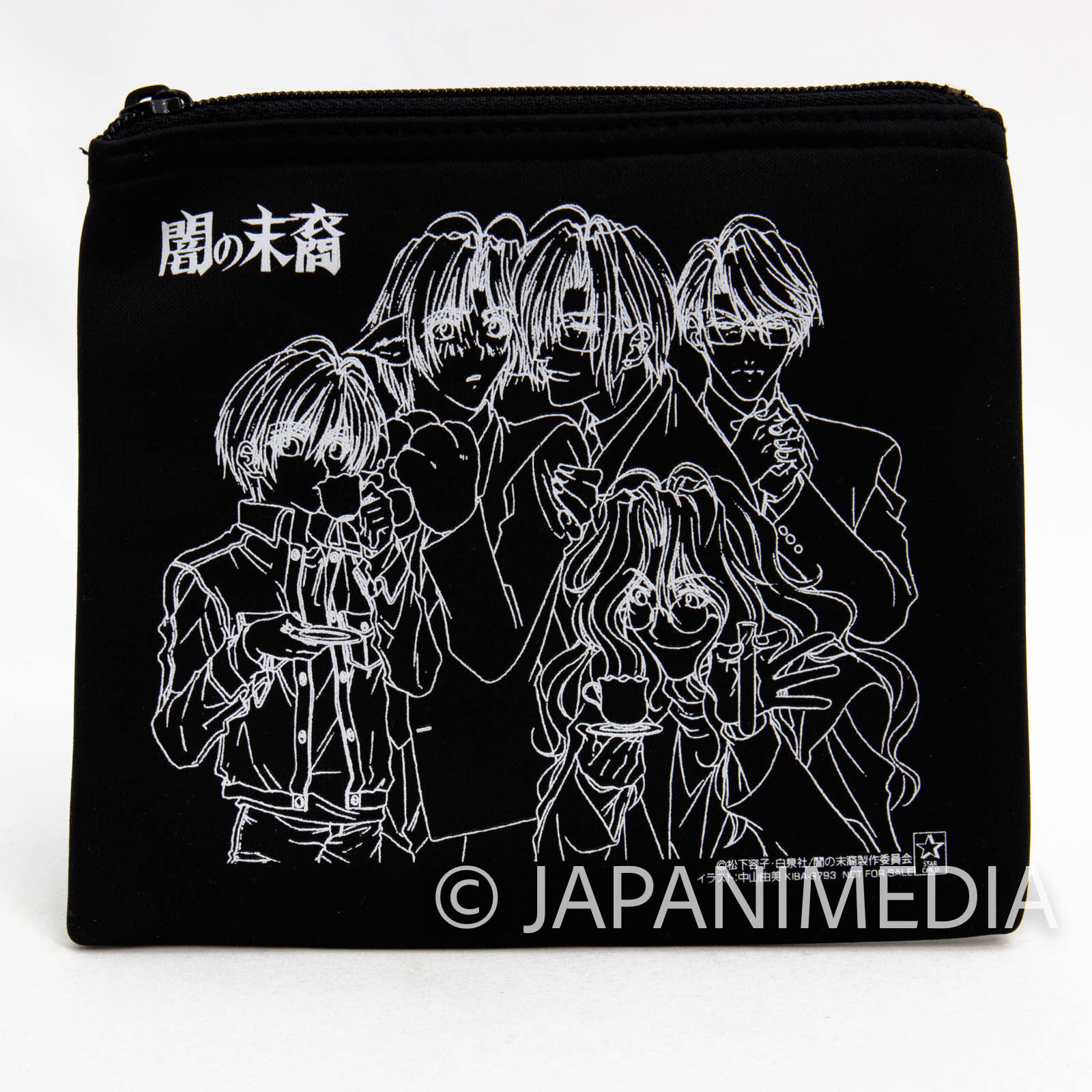 RARE!! Descendants of Darkness Cushion pouch bag JAPAN ANIME