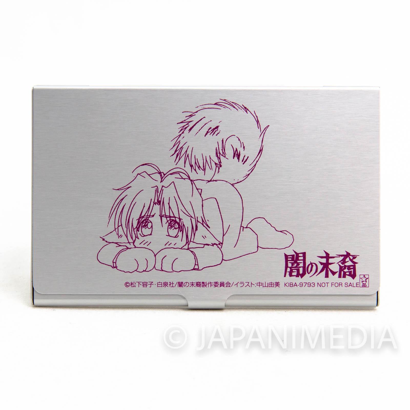 RARE!! Descendants of Darkness Asato Tsuzuki Business card case JAPAN ANIME