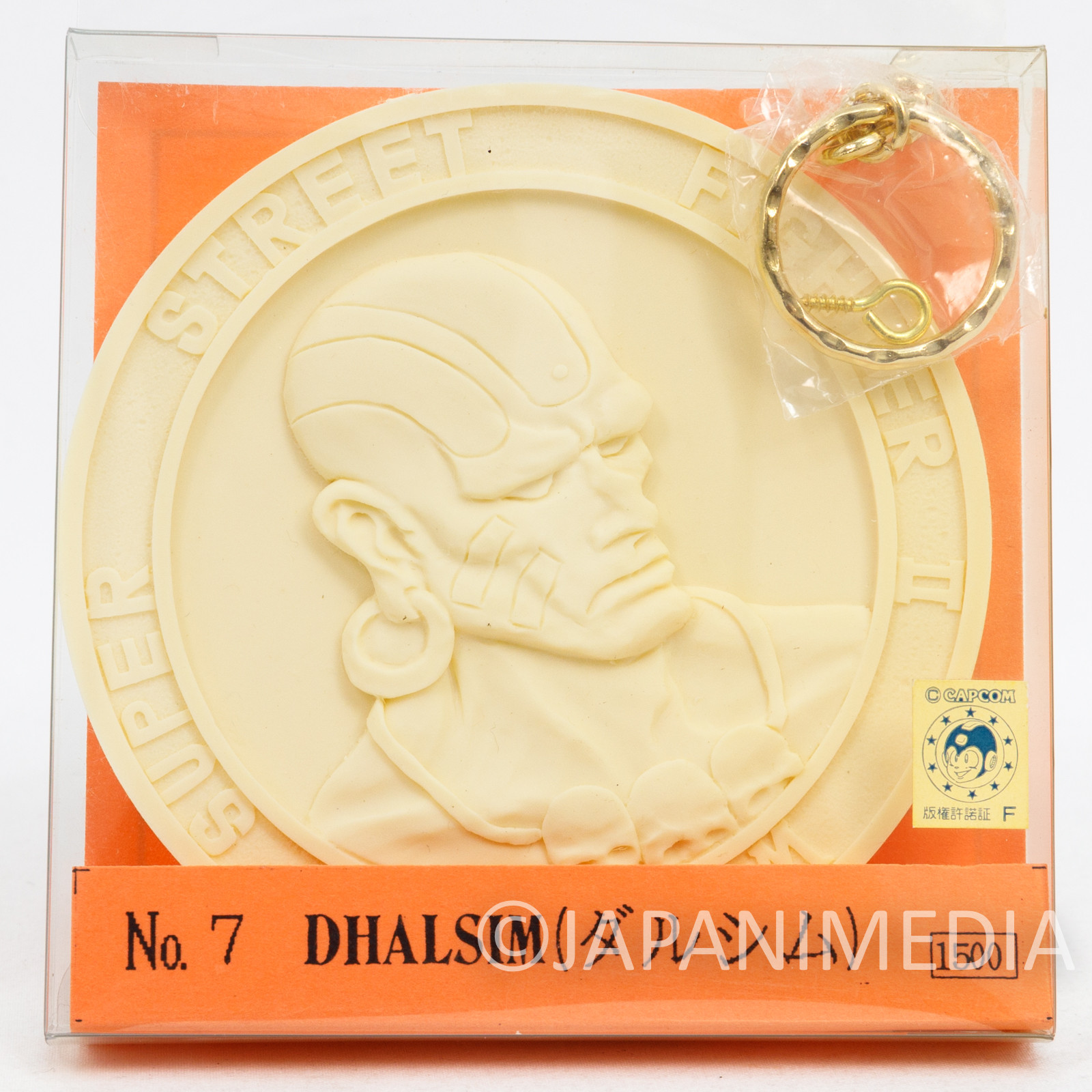 Street Fighter 2 Dhalsim Medal Type Resin Cast Model kit Volks Capcom FIGURE