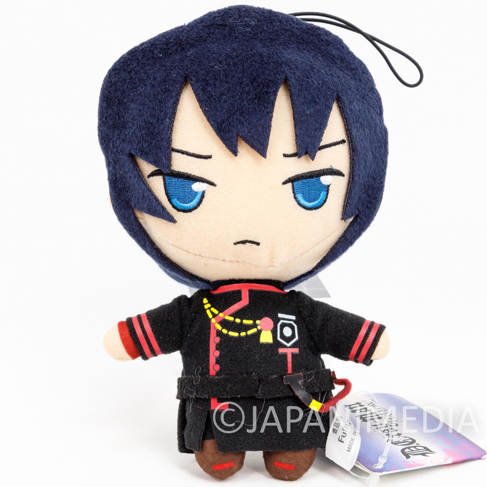 D.Gray-man HALLOW Yu Kanda Plush Doll JAPAN ANIME MANGA