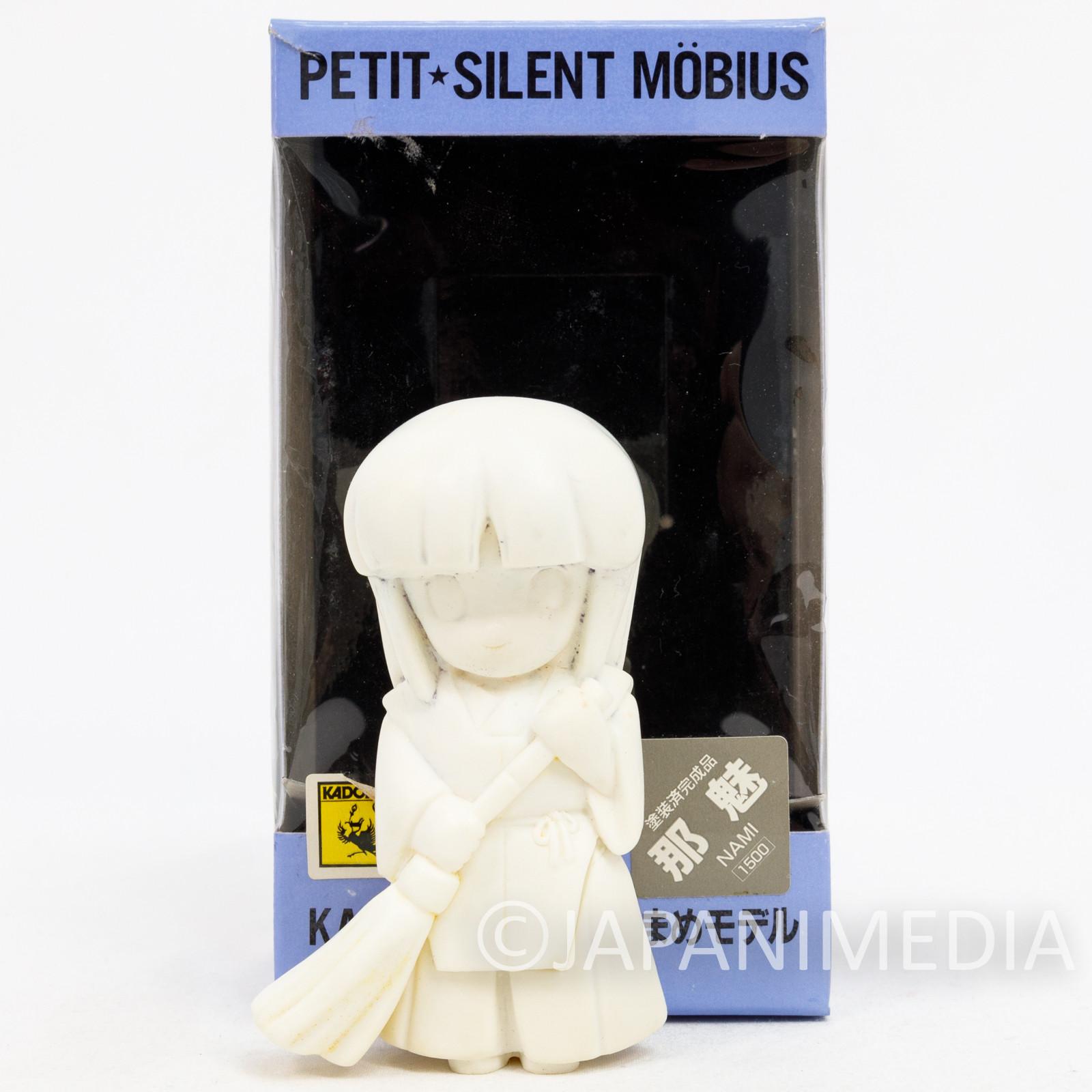 Silent Mobius Nami Yamigumo Petit Resin Cast Model Kit Figure Kaiyodo JAPAN