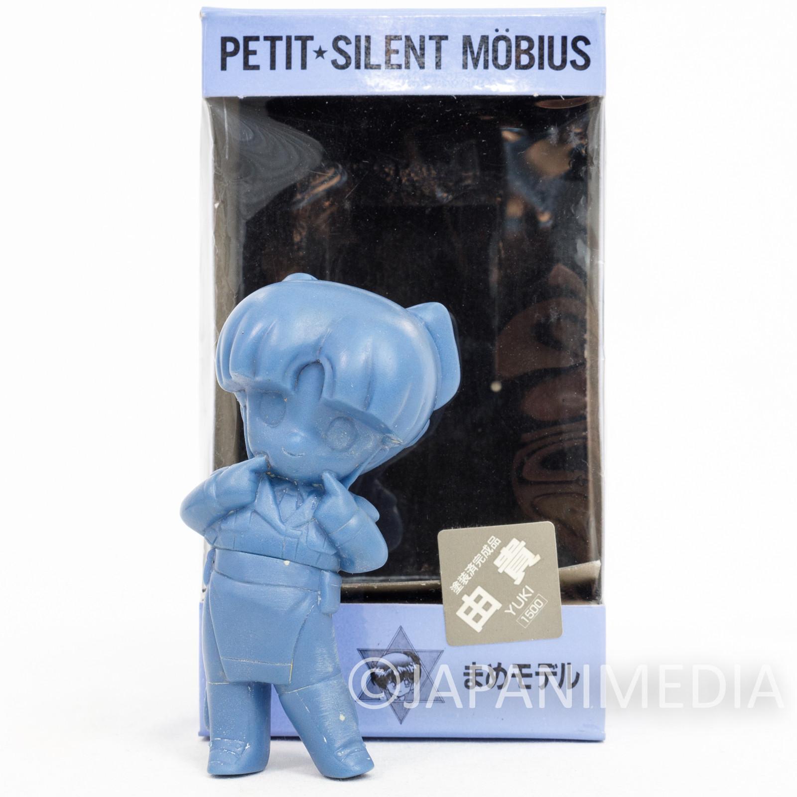 Silent Mobius Yuki Saiko Petit Resin Cast Model Kit Figure Kaiyodo JAPAN