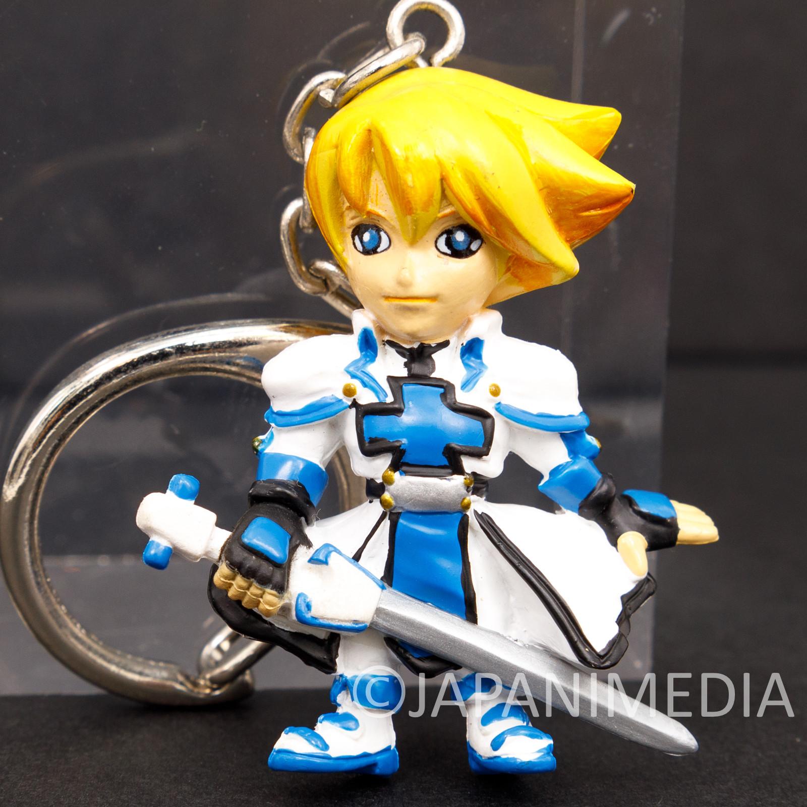 RARE! Guilty Gear Ky Kiske Figure Keychain Playstation2 Limited JAPAN GAME