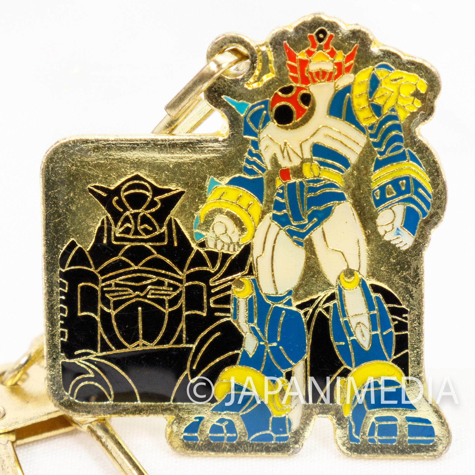 Ninpuu Sentai Harikenger Robot Metal Mascot Keychain JAPAN TOKUSATSU