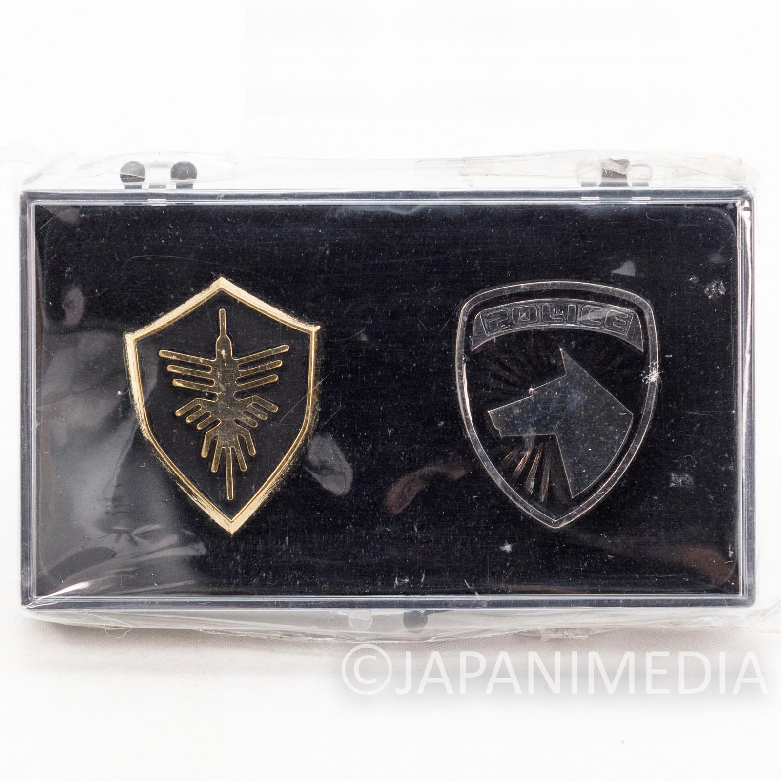Space Sheriff Gavan & Tokusou Sentai Dekaranger Space Squad Pins Set TOKUSATSU