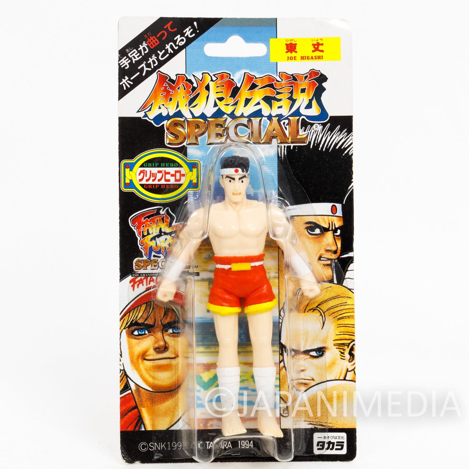 RARE! Fatal Fury Special Joe Higashi Mini Action Figure Grip Hero SNK JAPAN